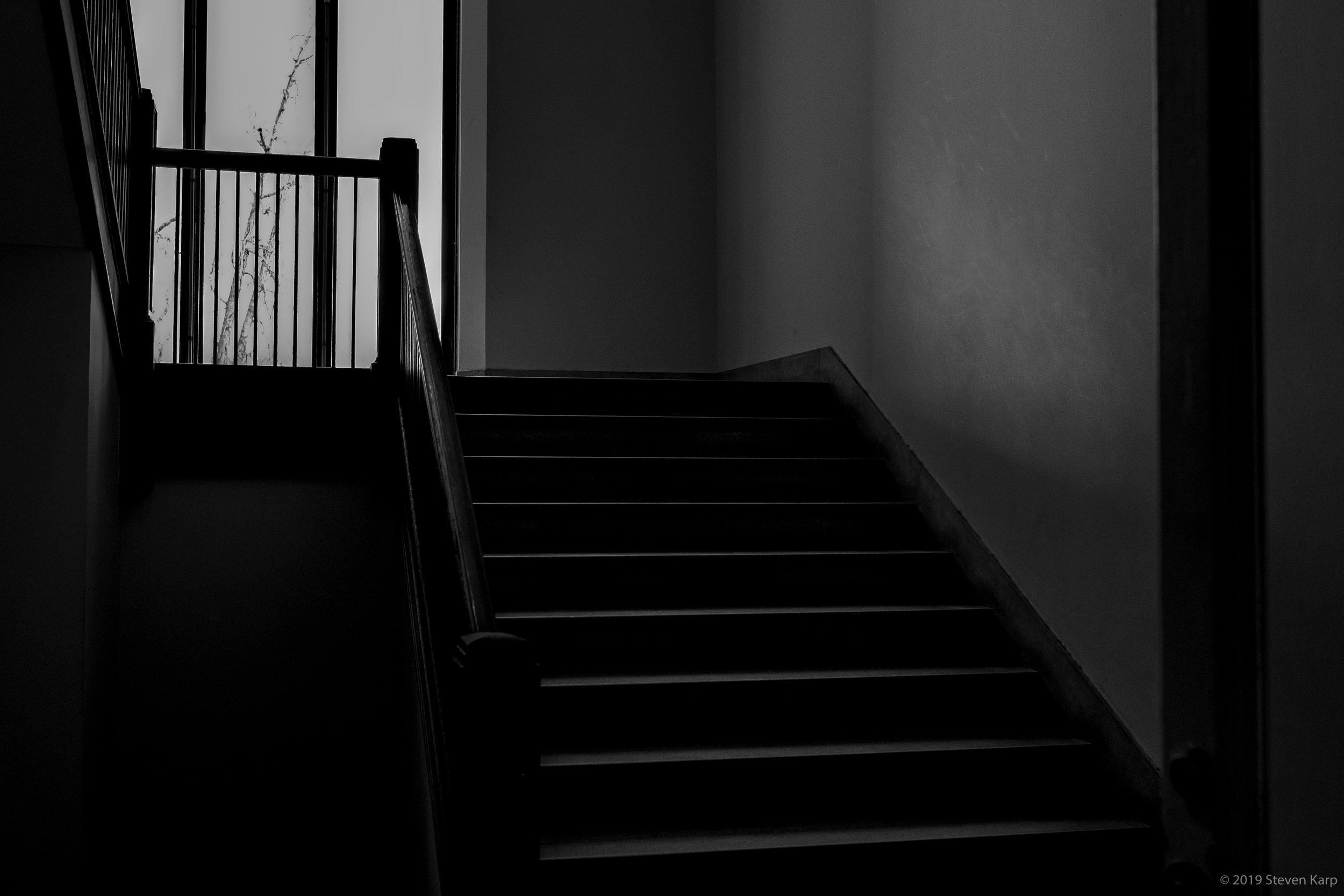 Lonely Staircase ©2019 S. Karp