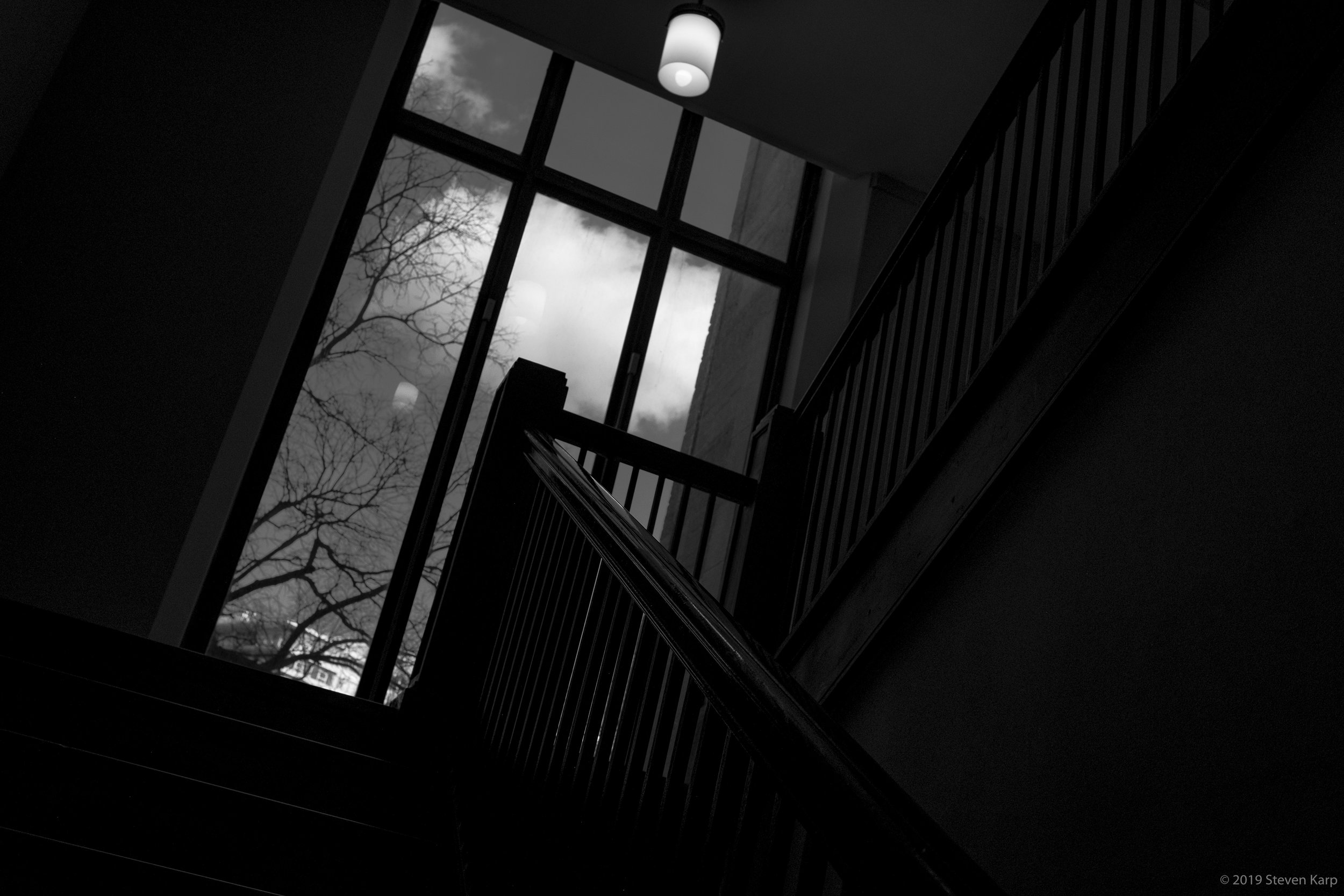 Lonely Staircase #2 ©2019 S. Karp