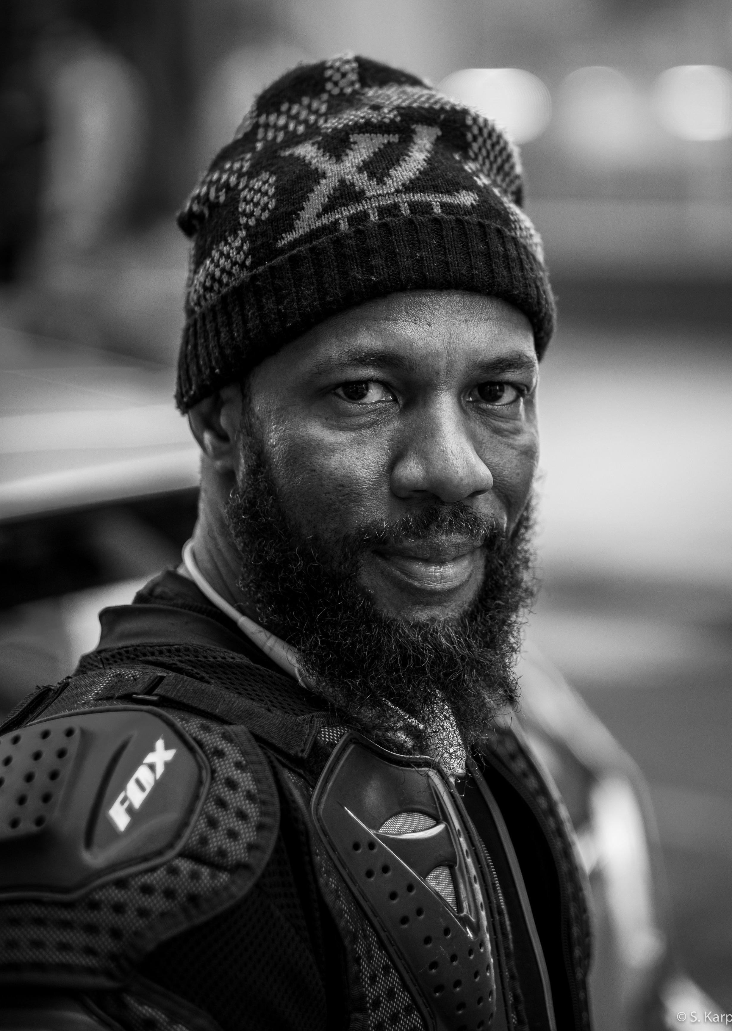 Motorcyclist ©2019 Karp