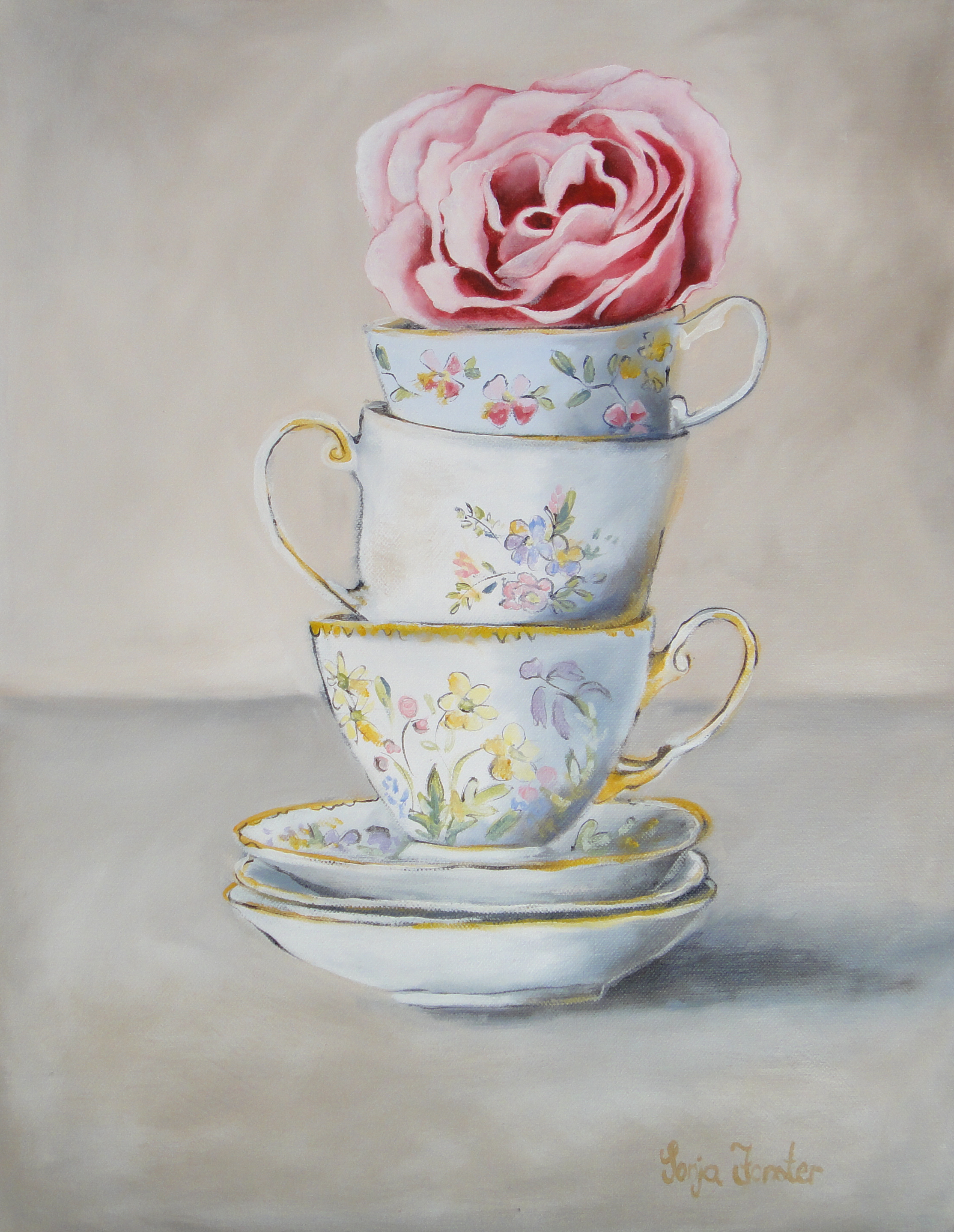 Sonja Forster Art - Stacked Tea Cups.jpg
