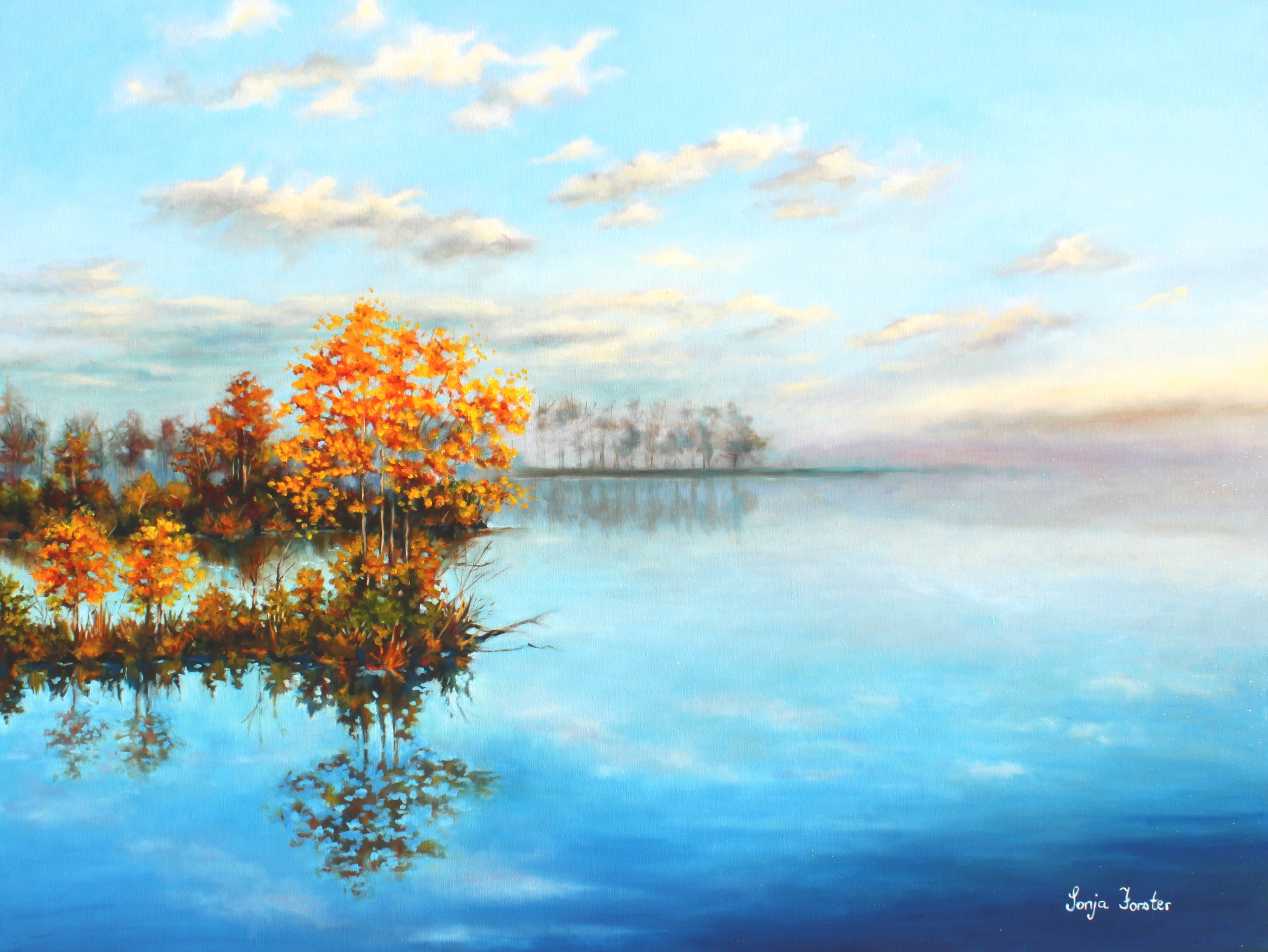 Sonja Forster Art - Autumn at Lake Ashby.jpg