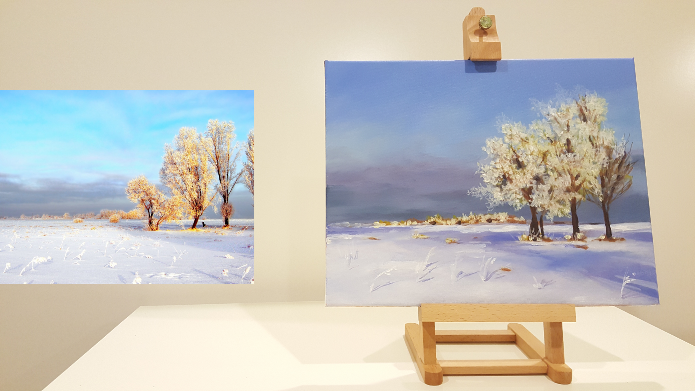 Winter Landscape workshop
