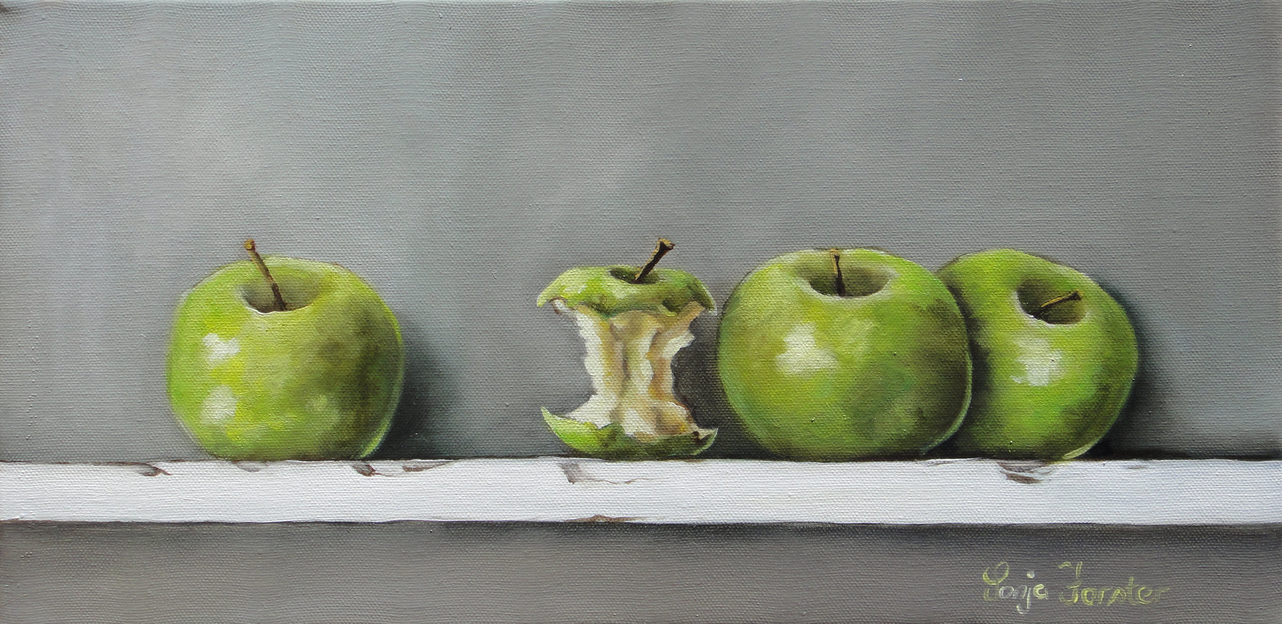 Sonja Forster Art - Apple a Day