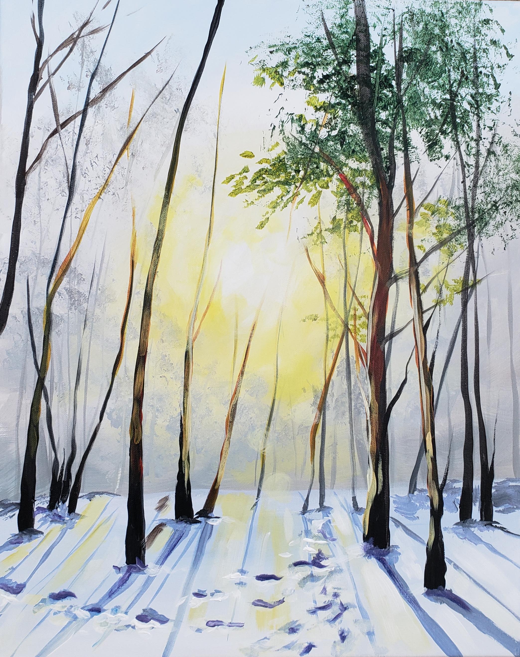 Sonja Forster Art - Happy Art - Winter Sunrise_original.jpg