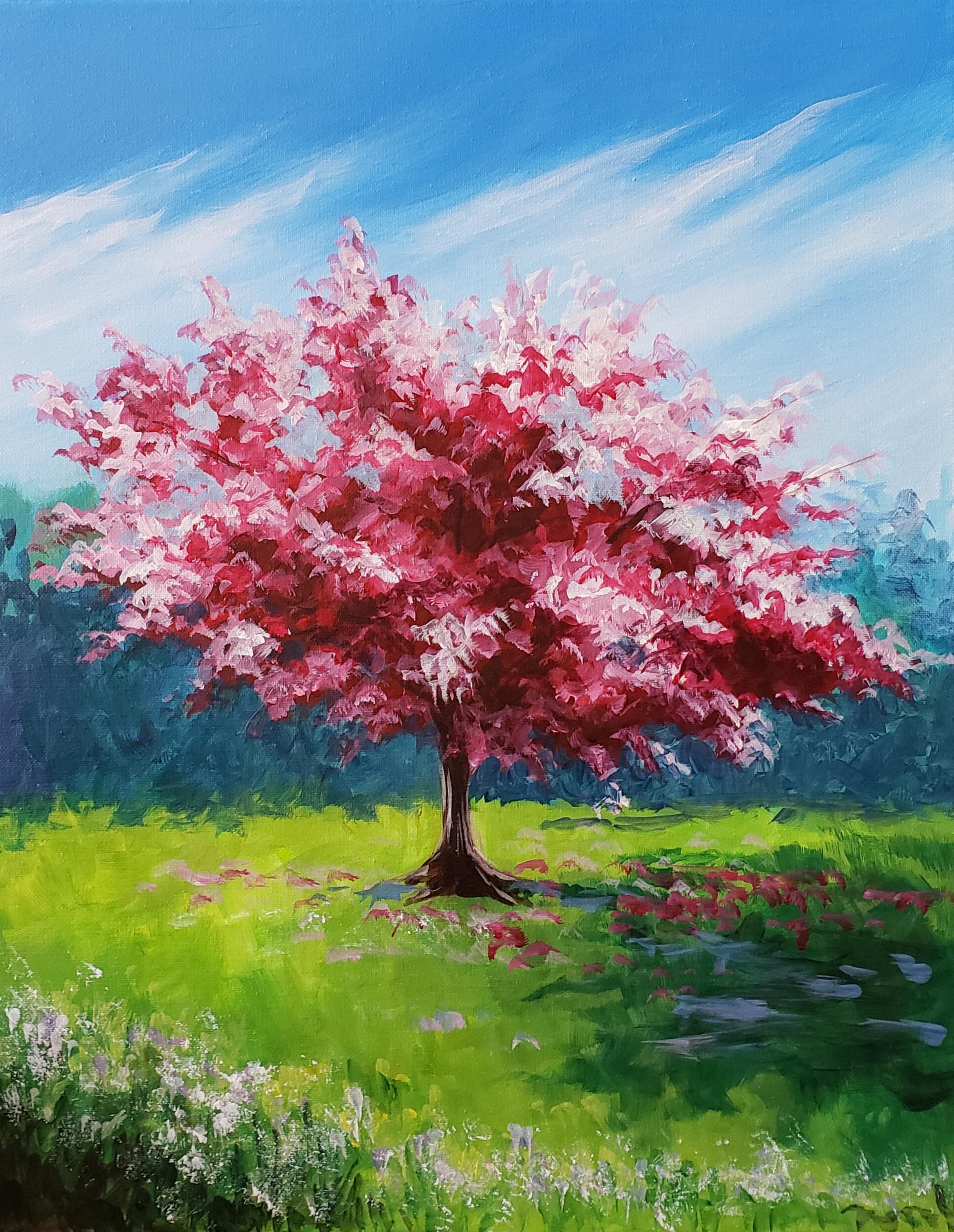 Sonja Forster Art - Happy Art - Spring Blossoms_original.jpg