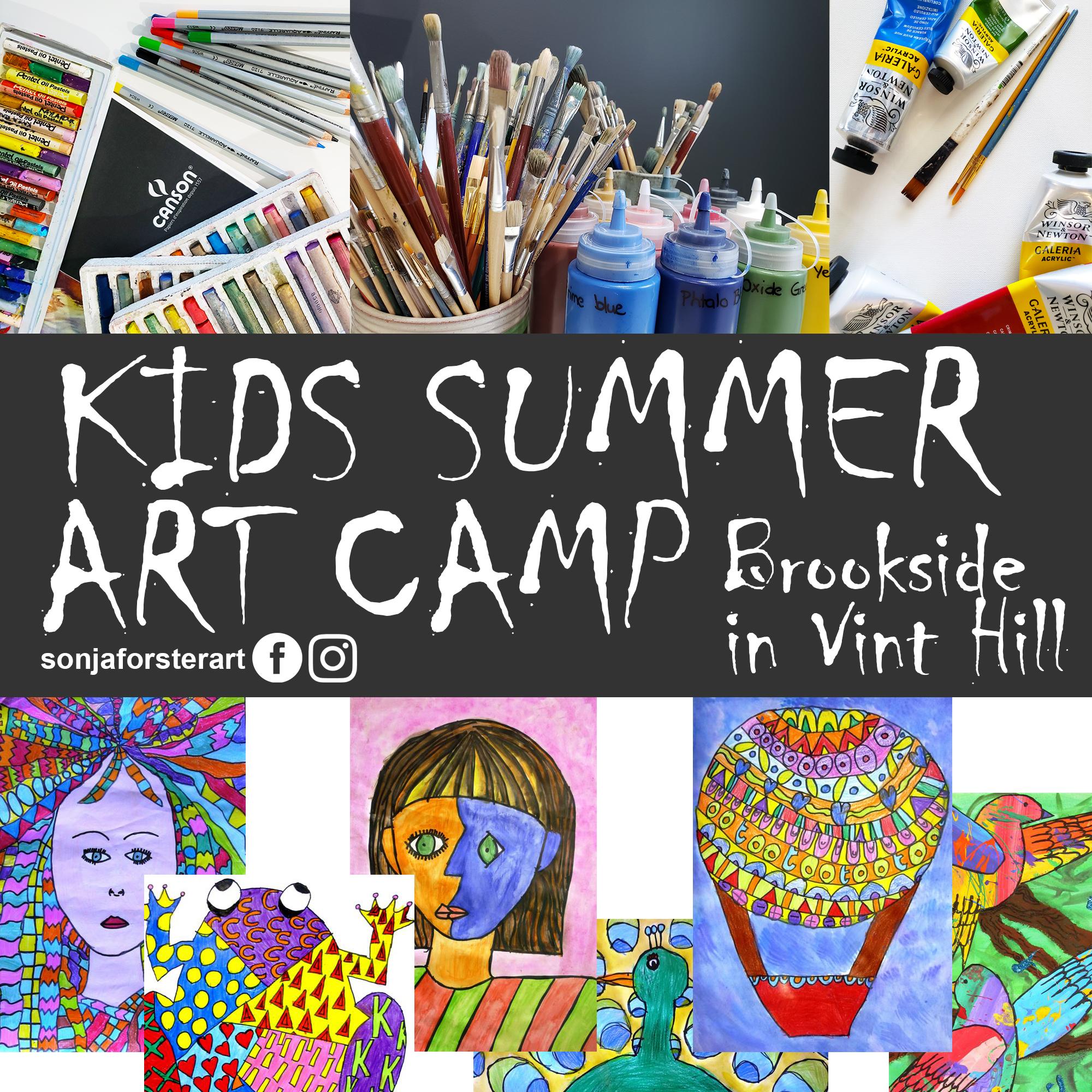 Summer Art Camp by Sonja Forster