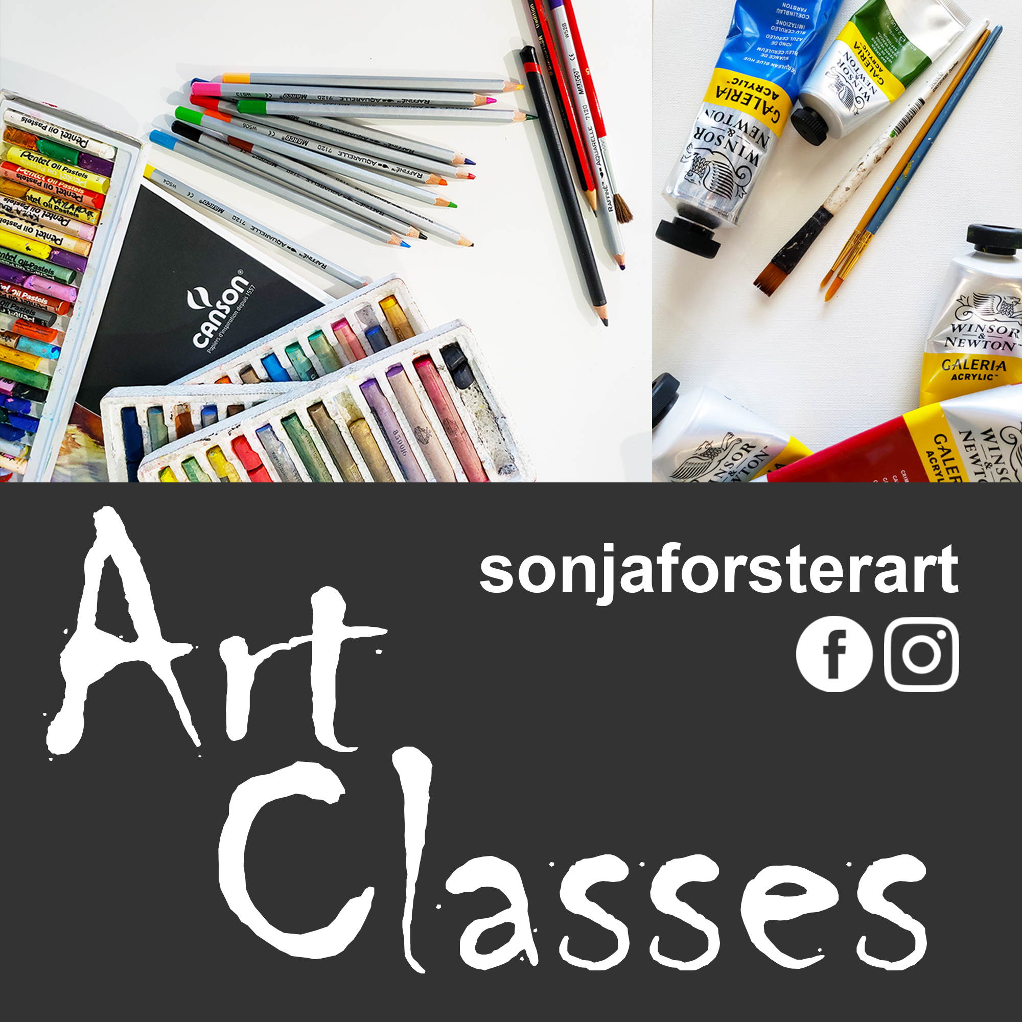 Sonja Forster Art - Weekly Art Classes