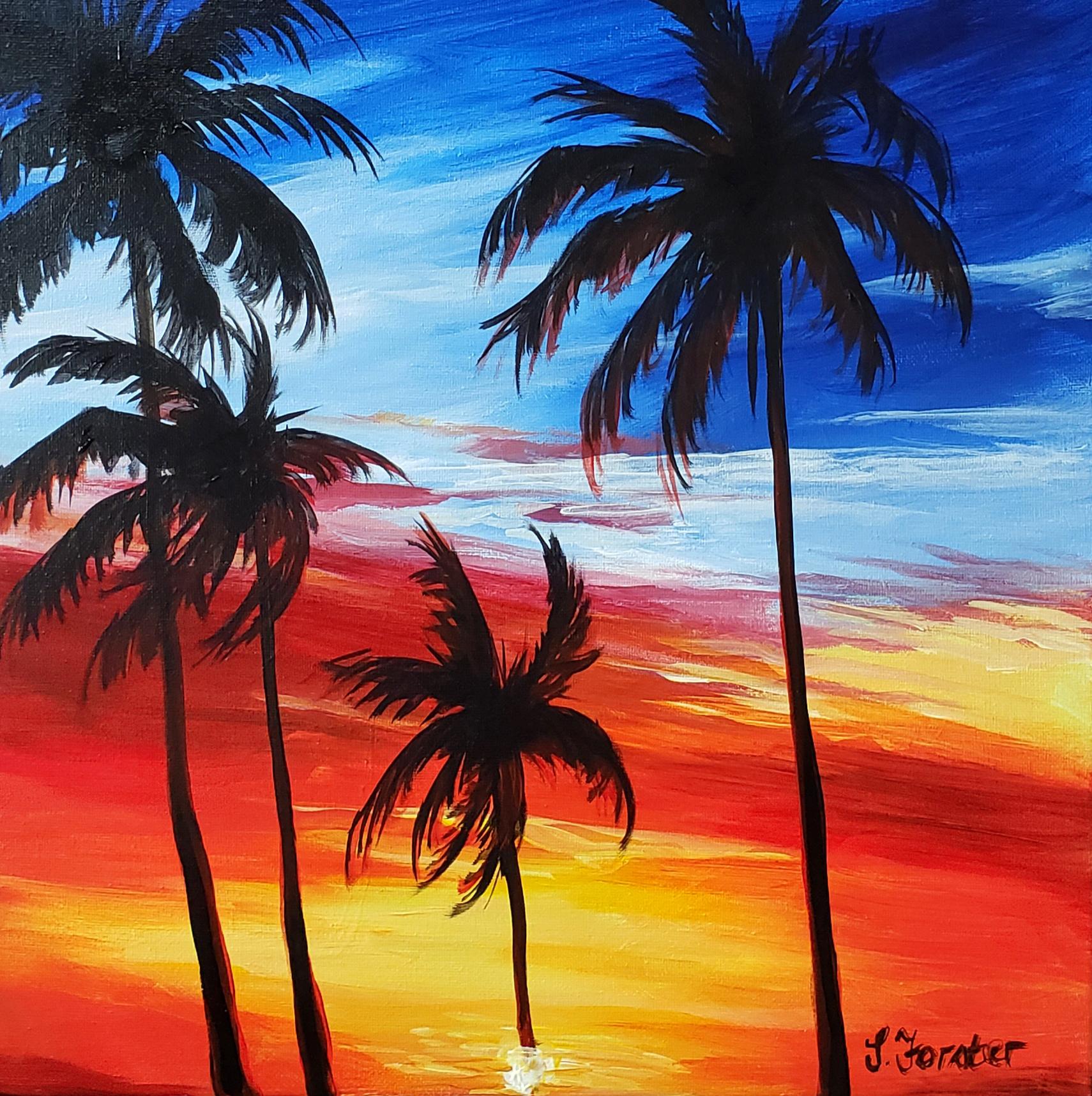 Sonja Forster Art - Sunset Palms.jpg