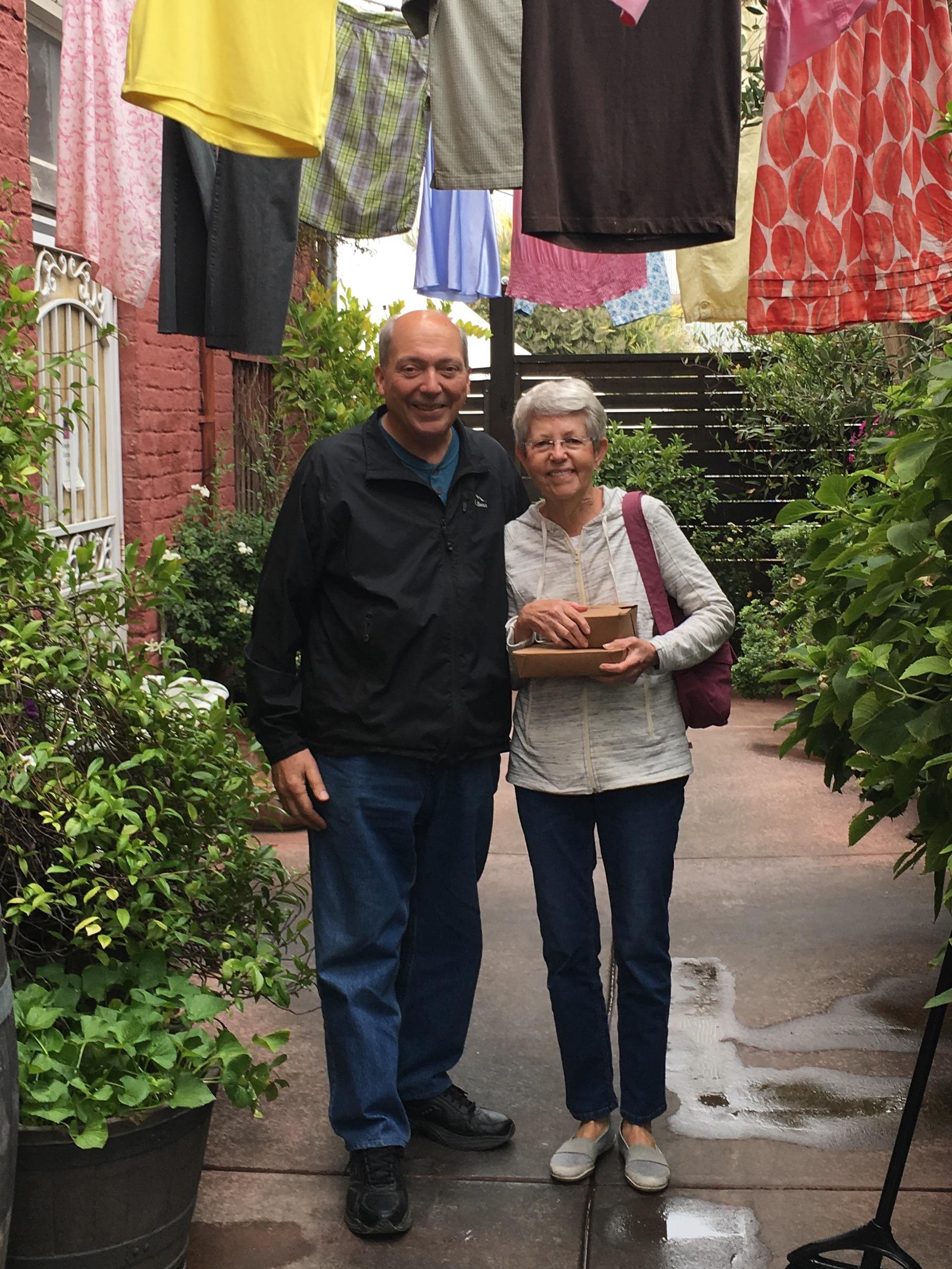 Dennis and Mary Farmer