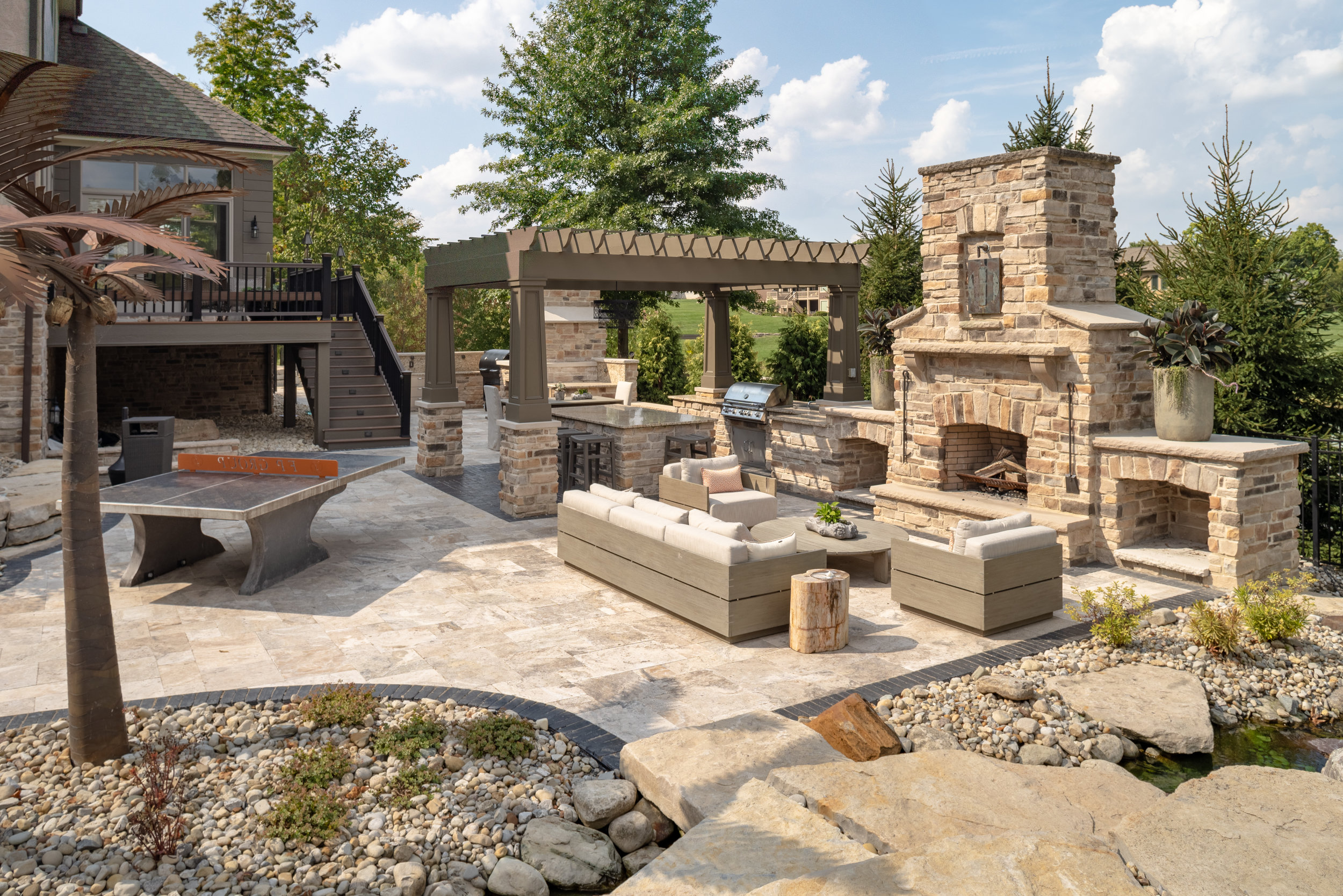 Private Residence designed and installed by Hidden Creek Landscaping
