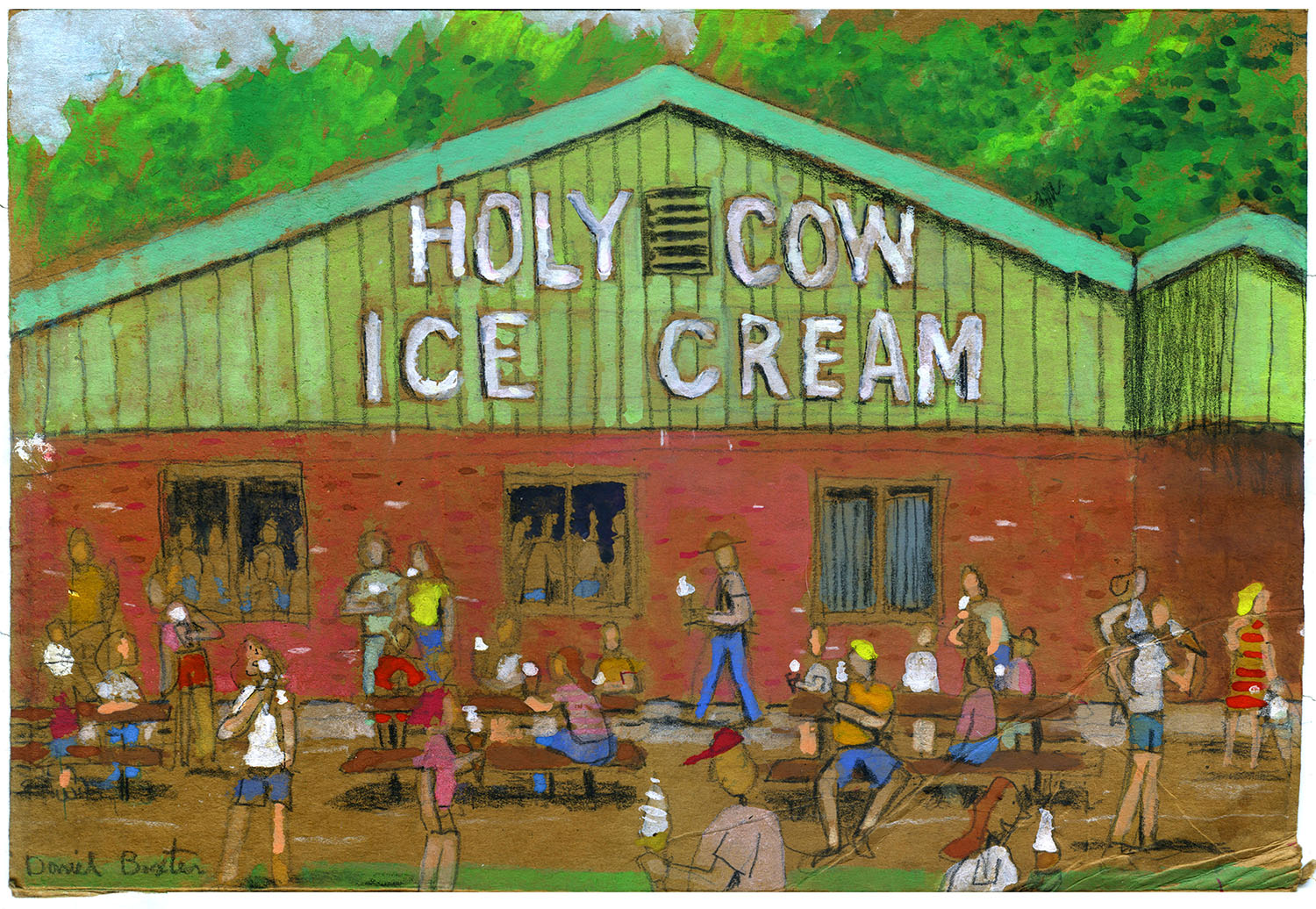 Holy Cow Ice Cream, Red Hook, NY