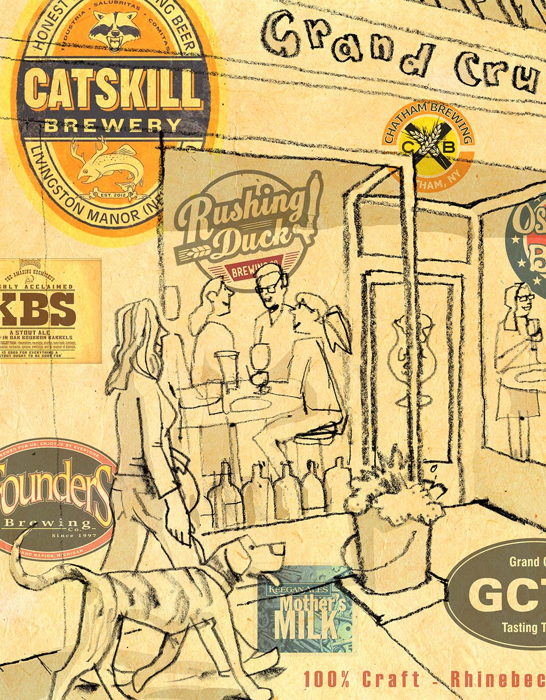 Grand Cru print detail #1