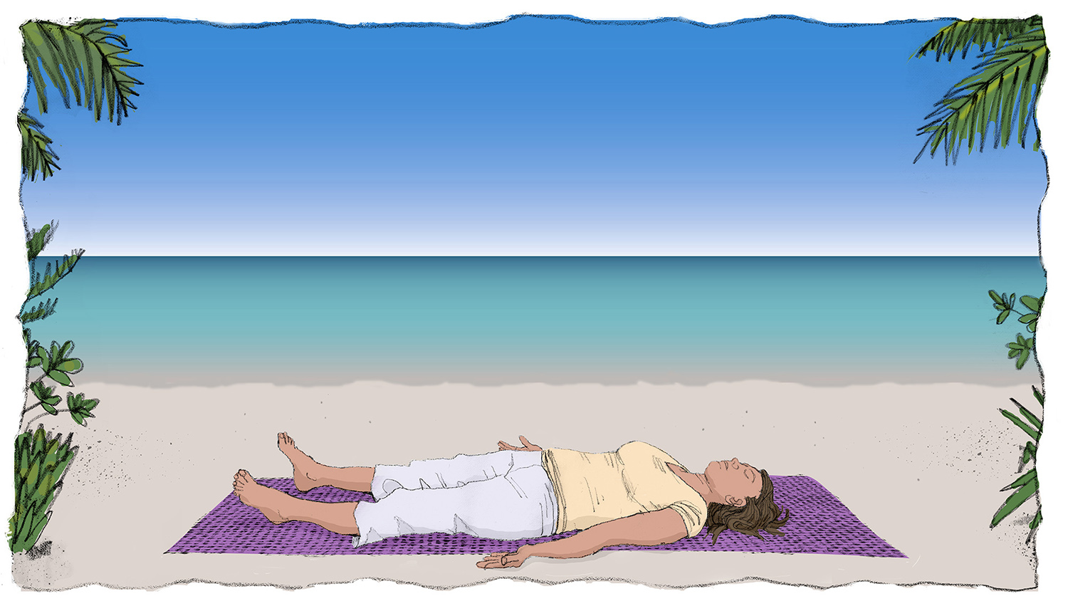 Savasana pose...