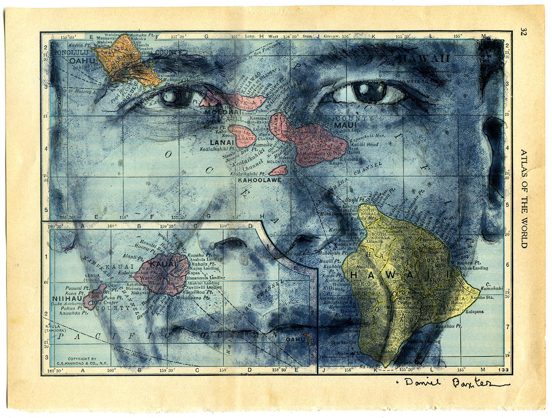 Copyright Daniel Baxter Barack Obama Portrait.jpg