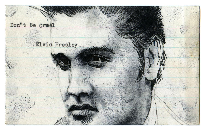 Copyright Daniel Baxter Elvis Presley portrait.jpg