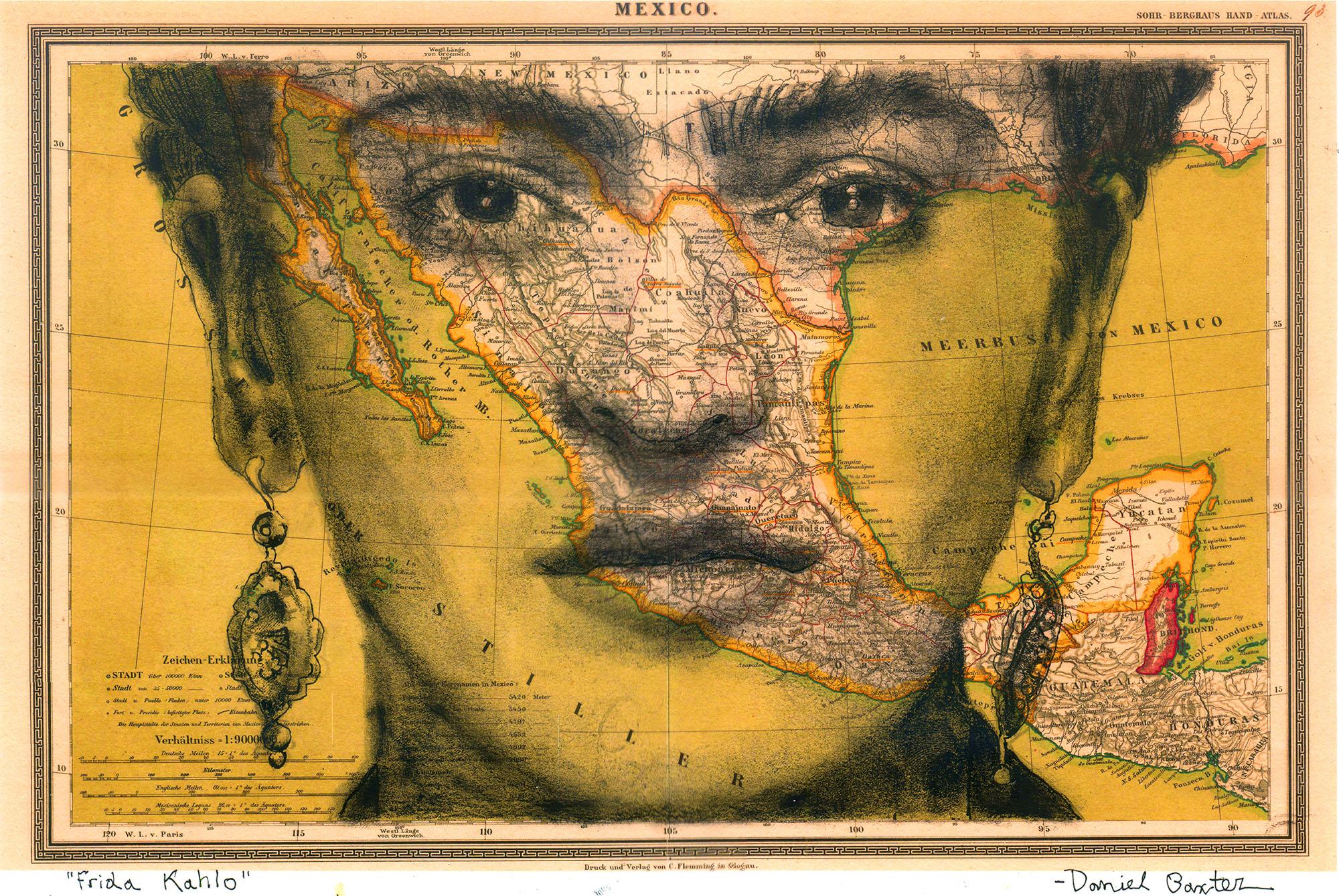 Copyright Daniel Baxter Frida Kahlo Portrait.jpg