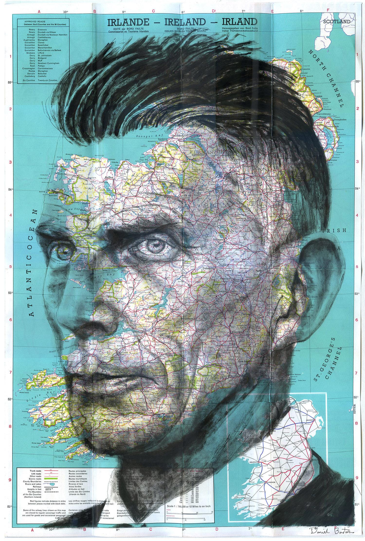 Copyright Daniel Baxter Samuel Beckett portrait.jpg