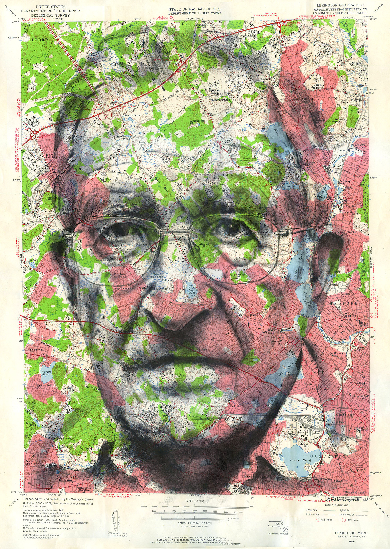 Copyright Daniel Baxter Noam Chomsky portrait cropped -revised.jpg