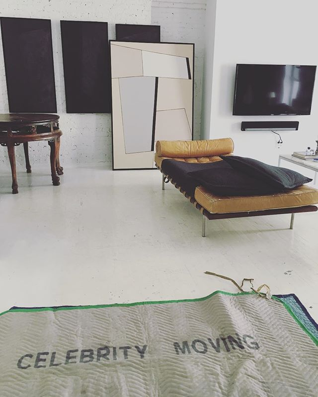 That's what's up #celebritymoving @ngcollectivestudio