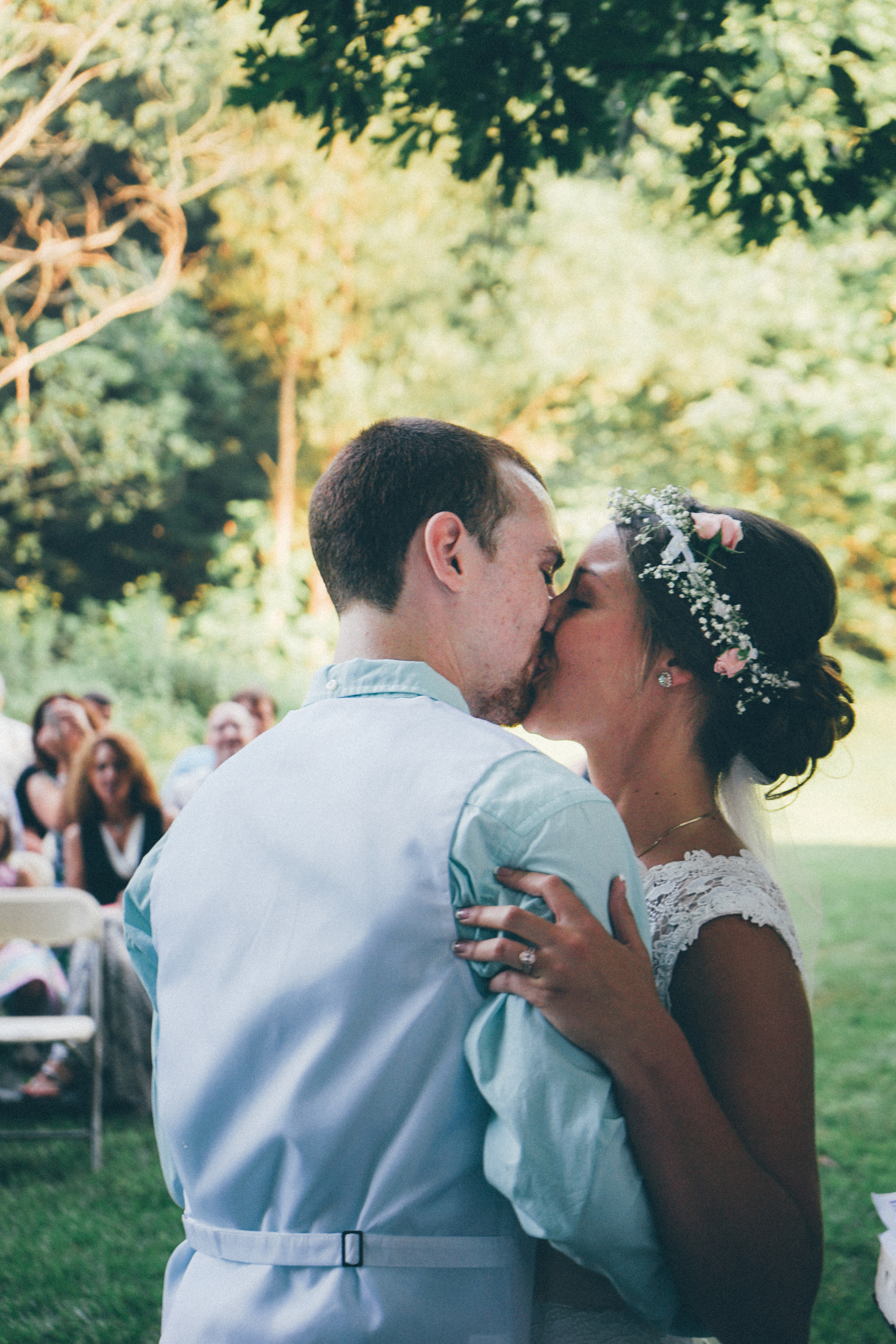 Sorry if I hurt your arm, Zach! I just couldn't wait to finally kiss my husband!!  Photo Credit: Matthew Garsky and Alec Fritz Photography