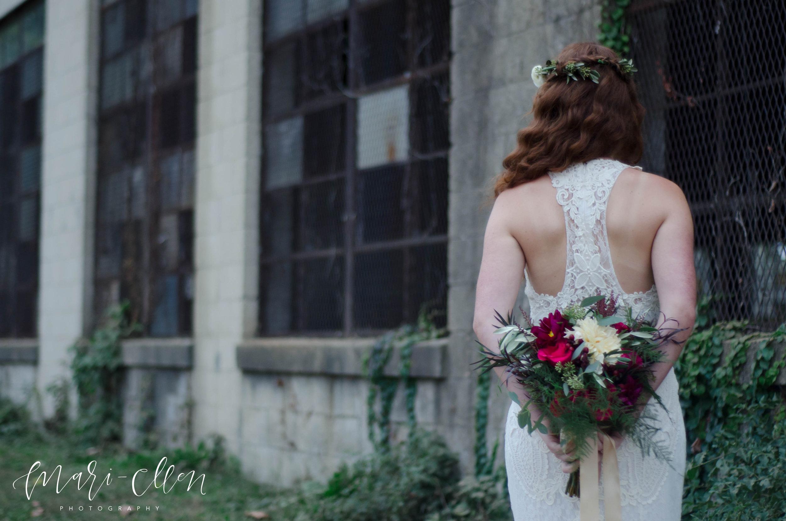Urban Bohemian Styled Bridal Shoot