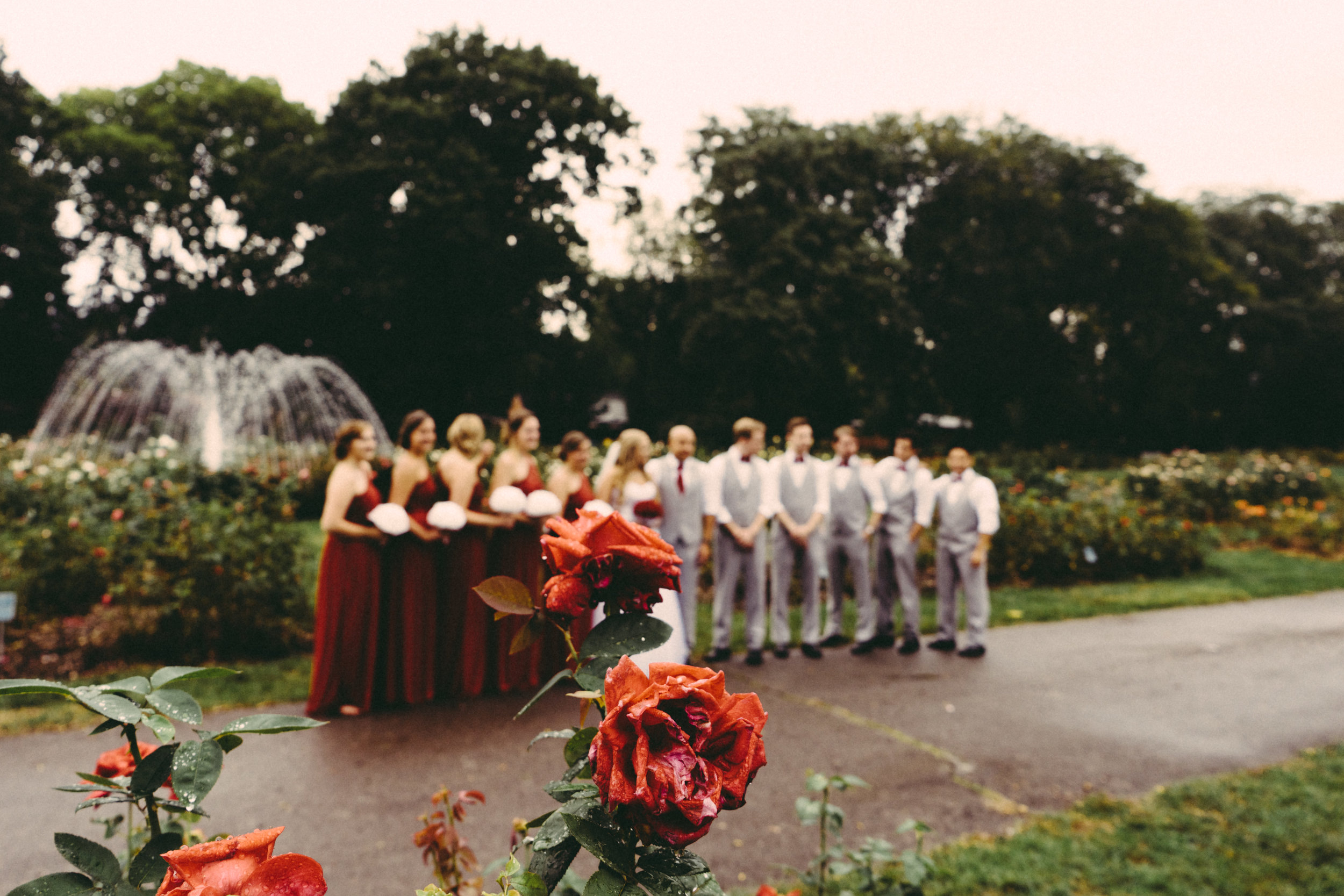 Park of Roses Columbus Wedding