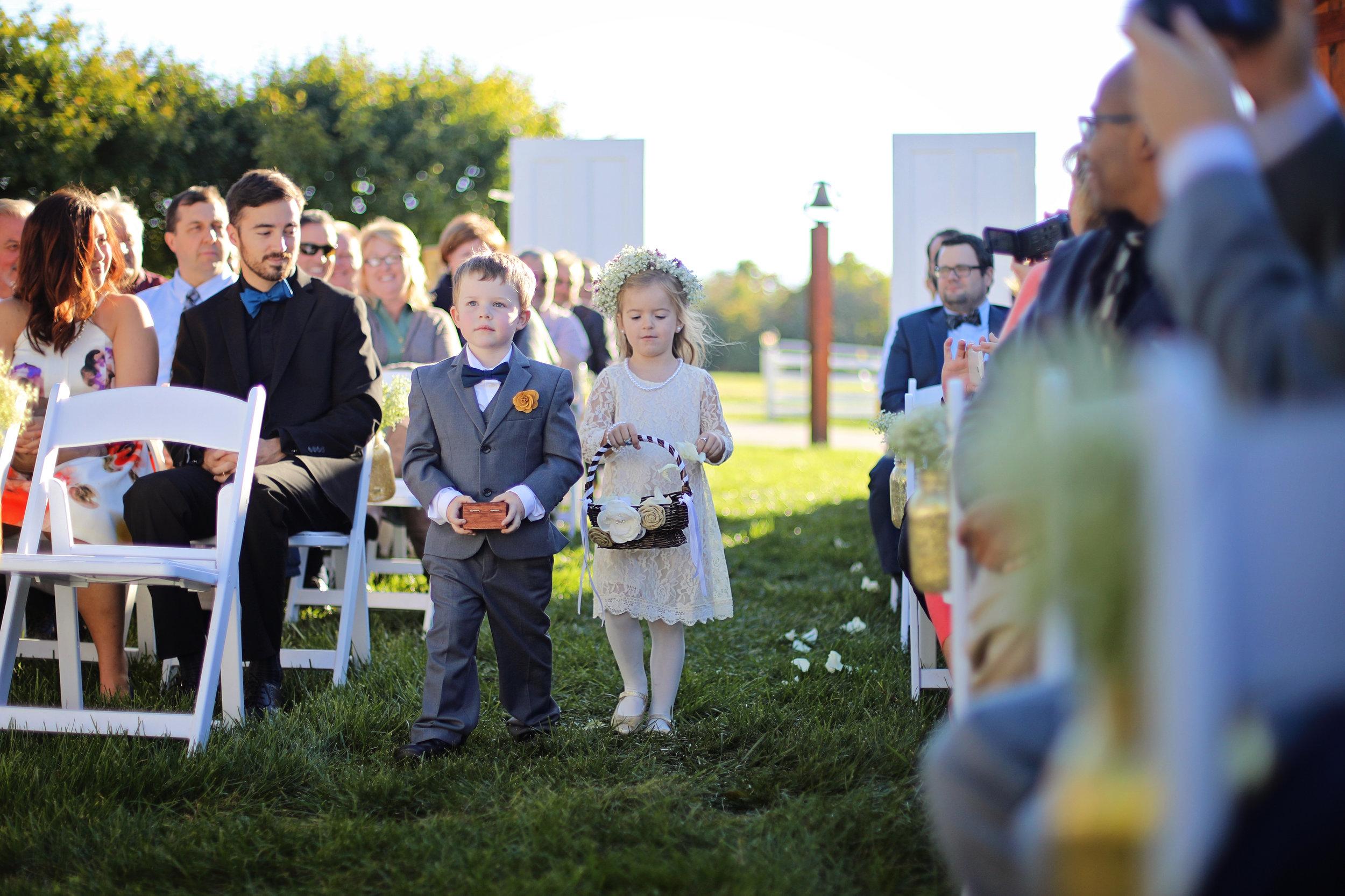 Old Blue Rooster October Wedding