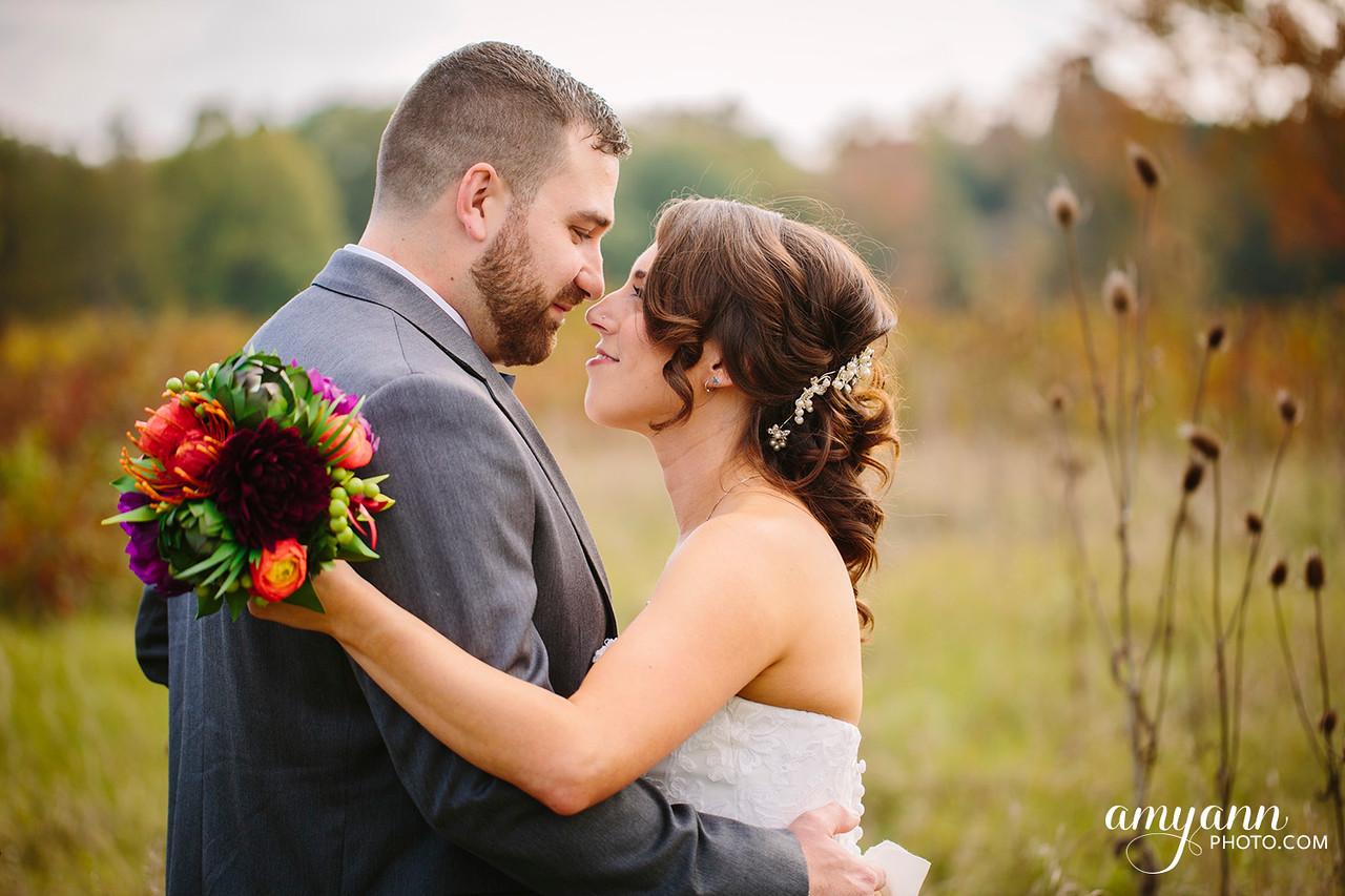October Wedding Columbus Zoo