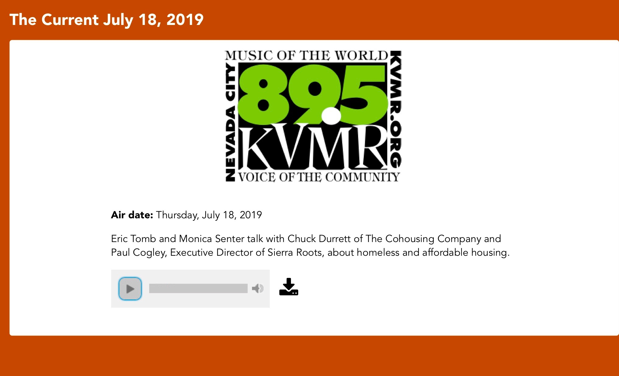 The Current July 18, 2019 | KVMR.jpg