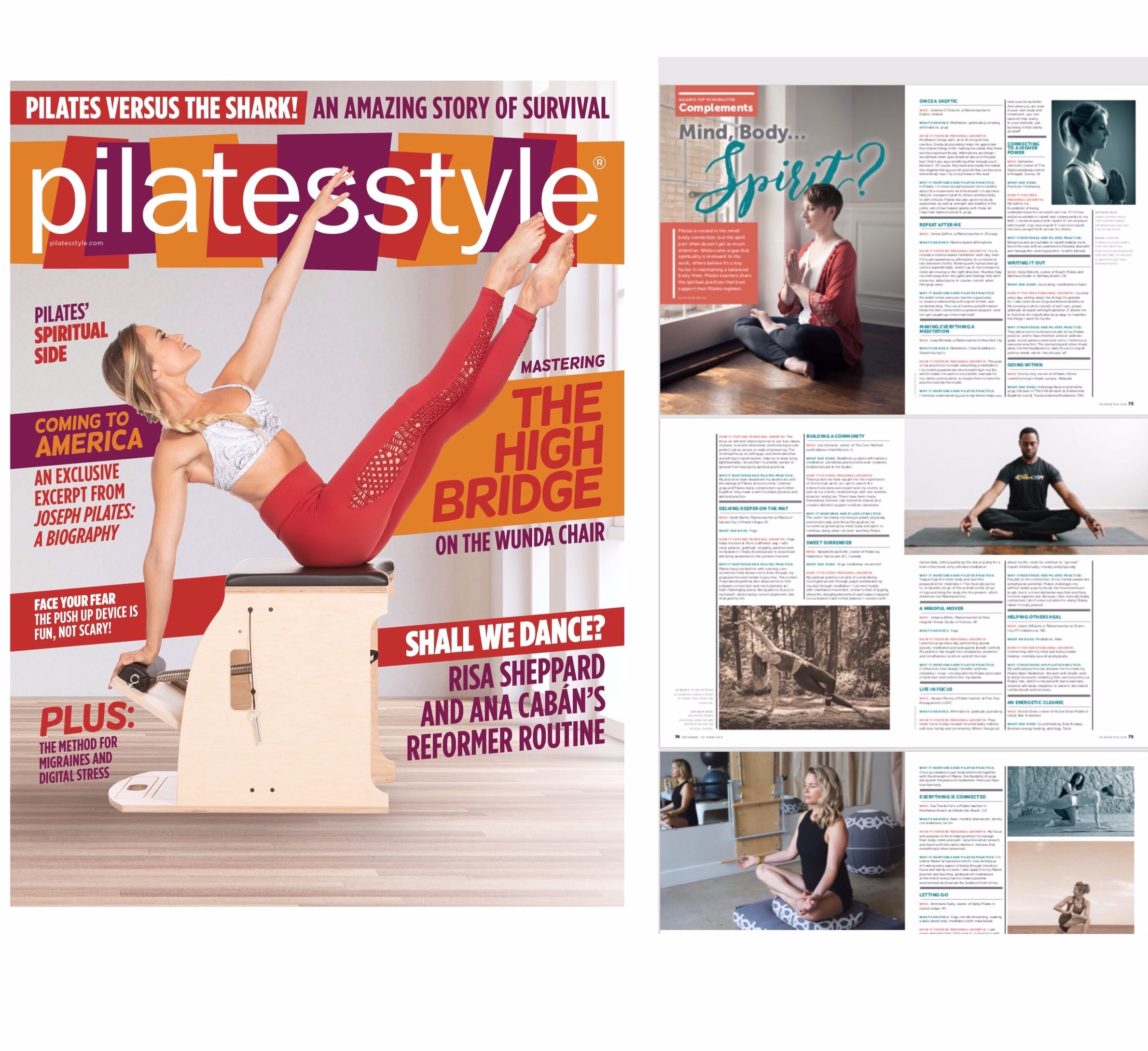 Pilates Style Magazine Sept/Oct 2019
