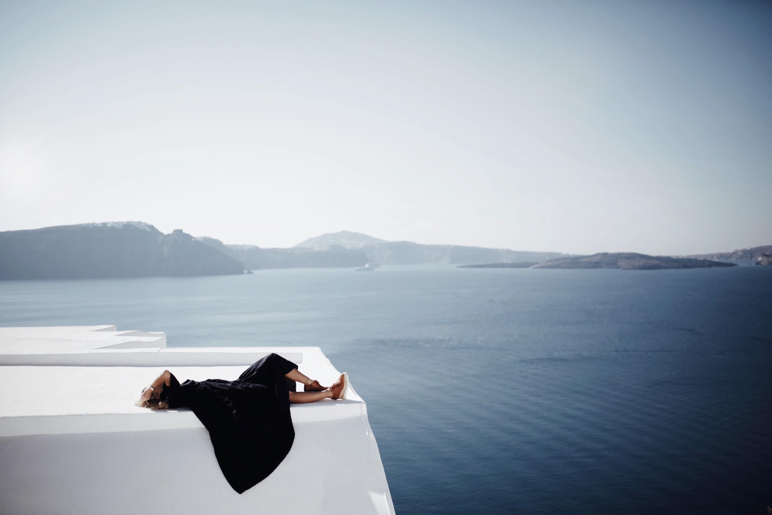 Santorini Credit-  Happily Grey