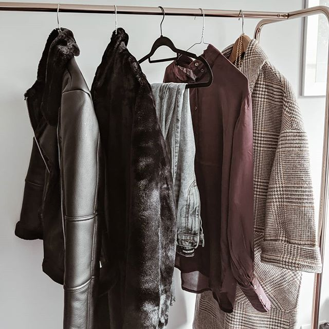 The Autumn Winter wardrobe is coming on nicely, happy Friday everyone ✨🍂🍁❄️