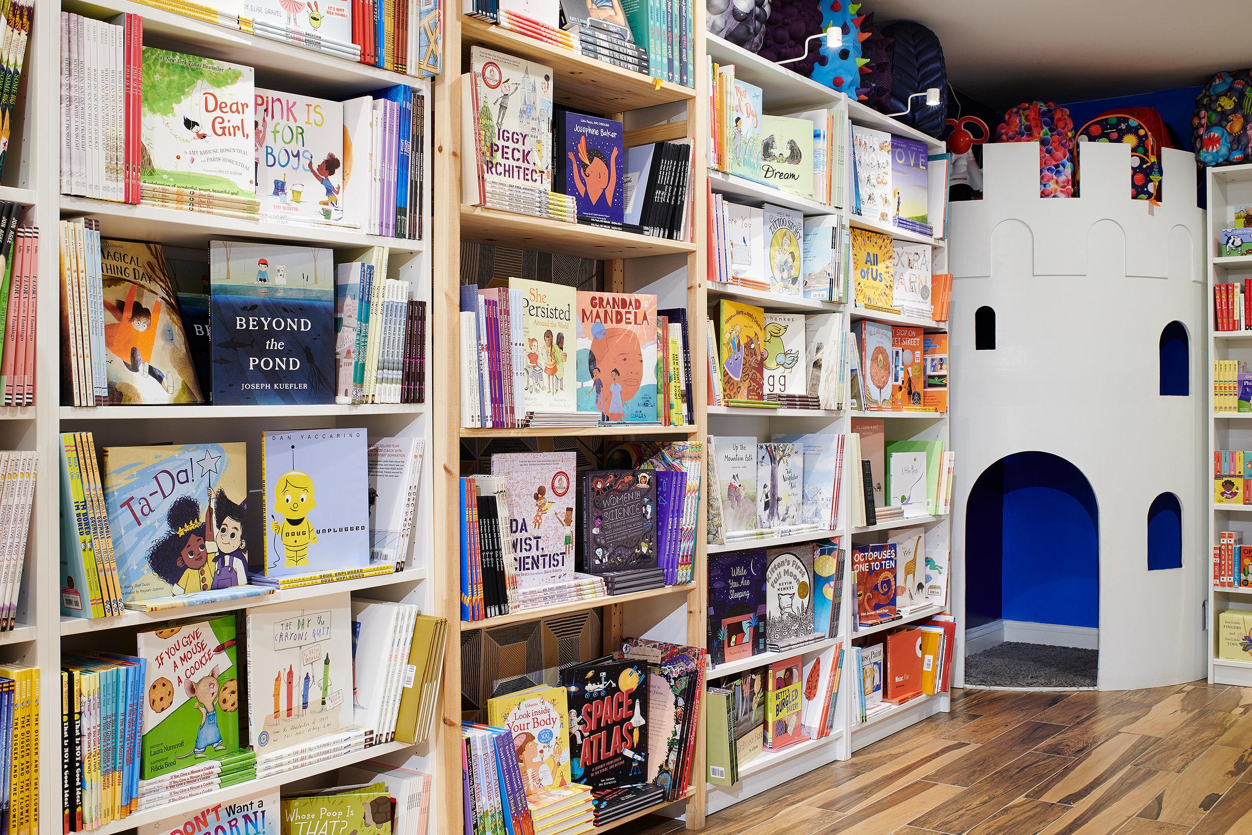 Children's Books in the Castle Corner