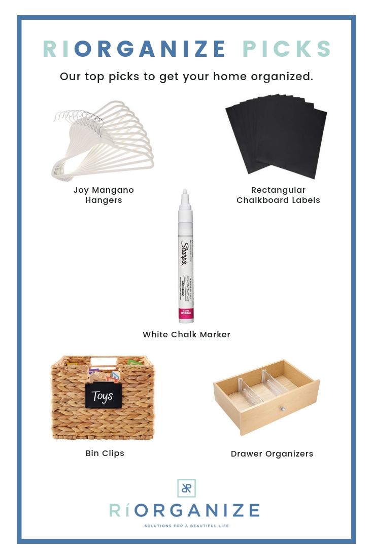 RiOrganize Home Organization Products
