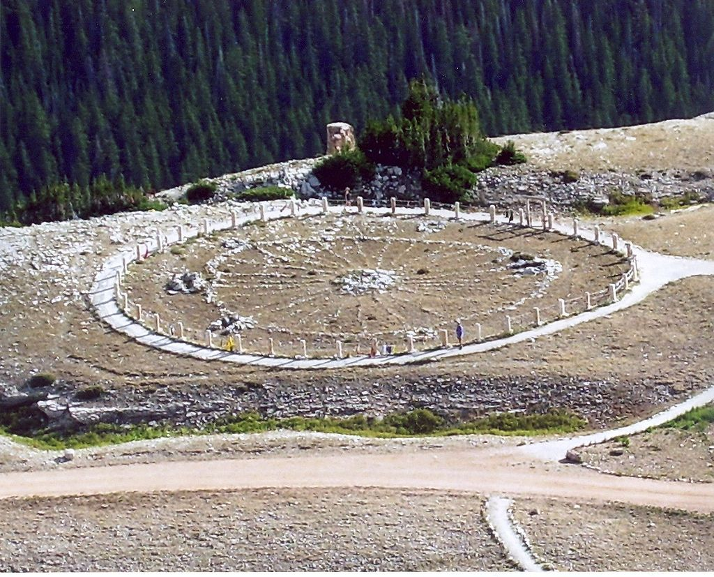 The Medicine Wheel/Medicine Mountain National Historic Landmark (formerly known as the Bighorn Medicine Wheel)