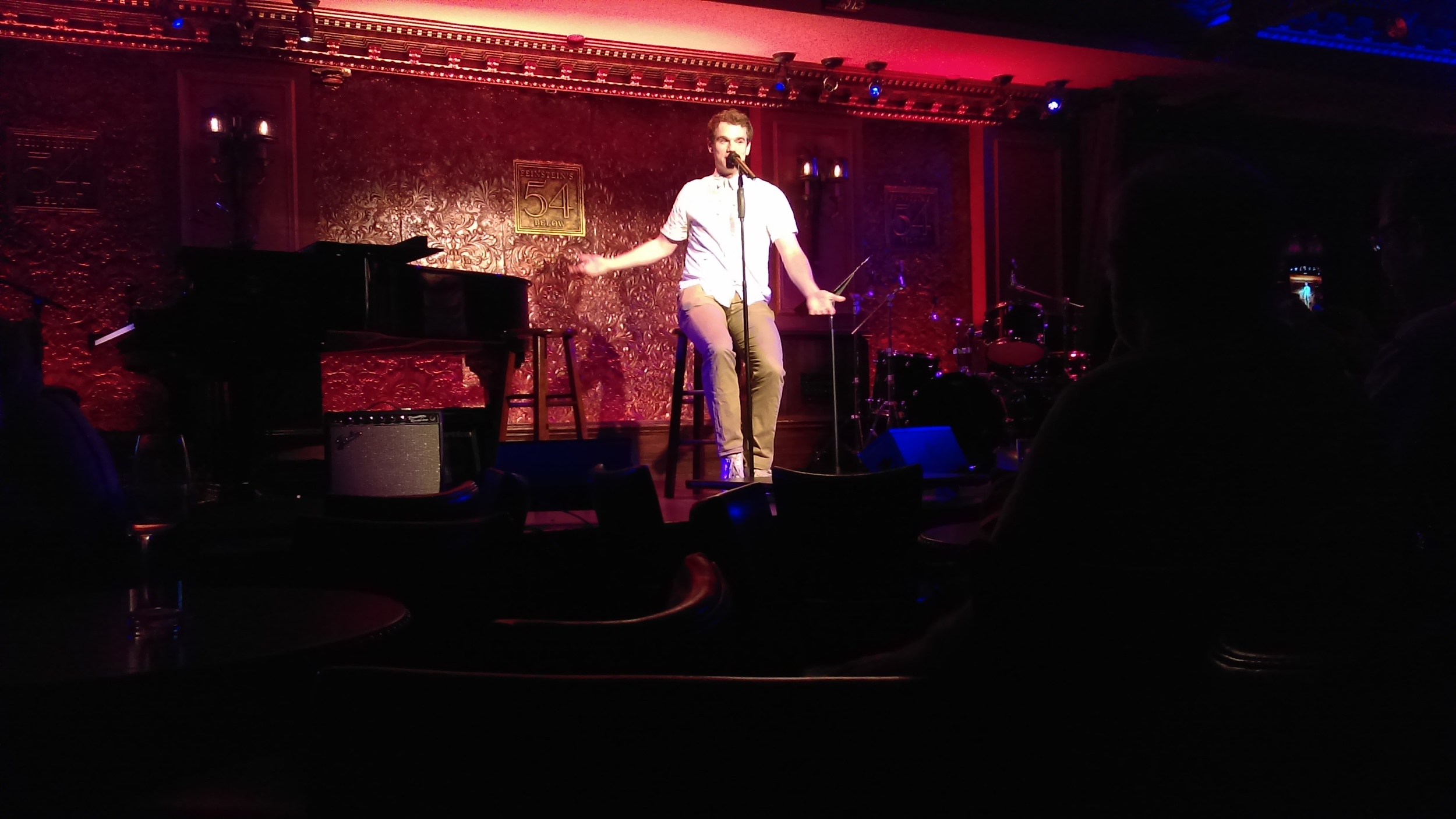 """Jay Armstrong Johnson of last year's """"On the Town"""" Broadway revival"""
