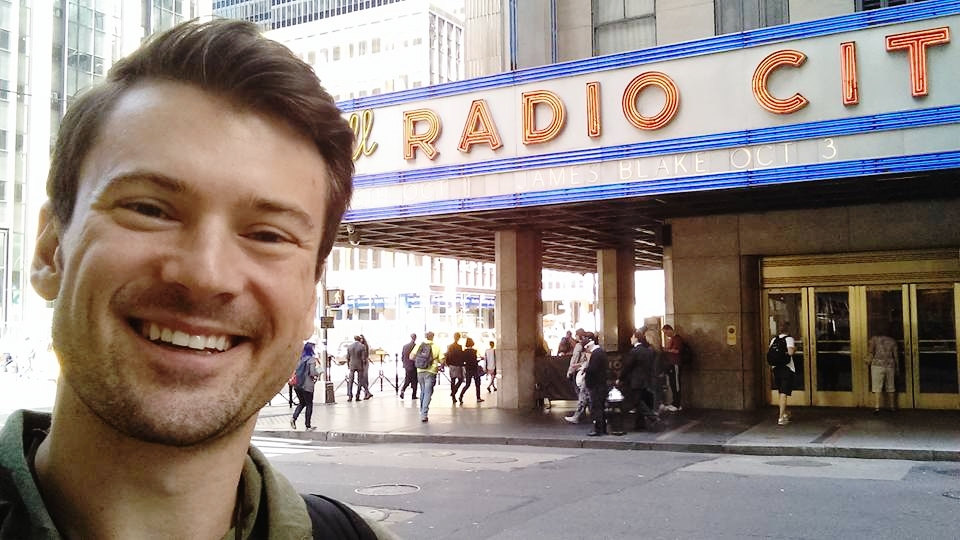 But what was probably the zenith of my summer was coming back from Spain to book my debut at this small stage in NYC: THE RADIO CITY CHRISTMAS SPECTACULAR FEATURING THE ROCKETTES!