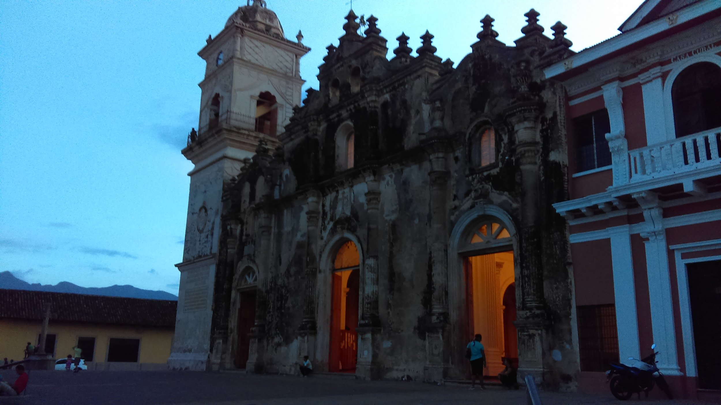 Iglesia de la Merced: the church next to my hostel, dating to the 16th century, but repaired twice, in the 1780's and 1860's due to damage