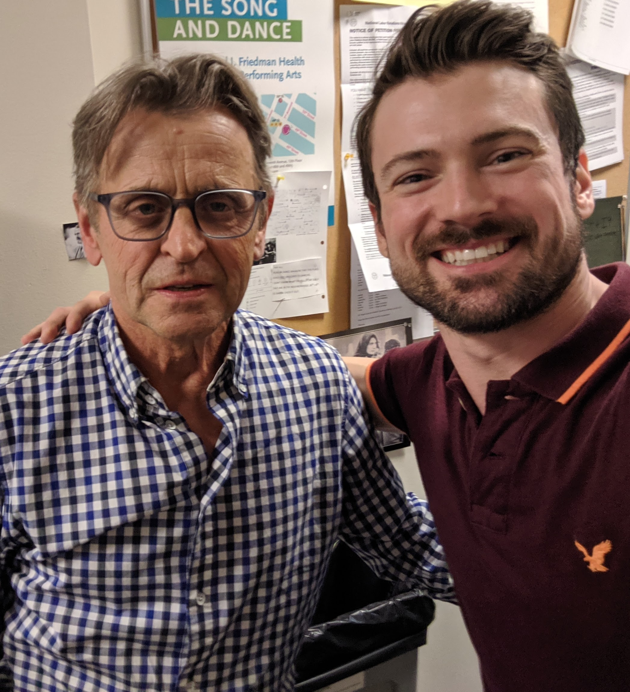 the highlight of my career, performing for legend and inspiration, Mikhail Baryshnikov