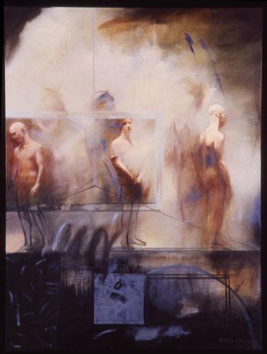 Nekyia , 49 1/2 x 37 1/2 inches, oil on canvas, 2002