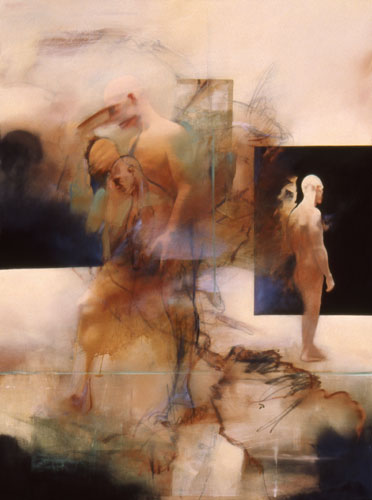 Terre Pur , 49 1/2 x 37 1/2 inches, oil on canvas, 2002