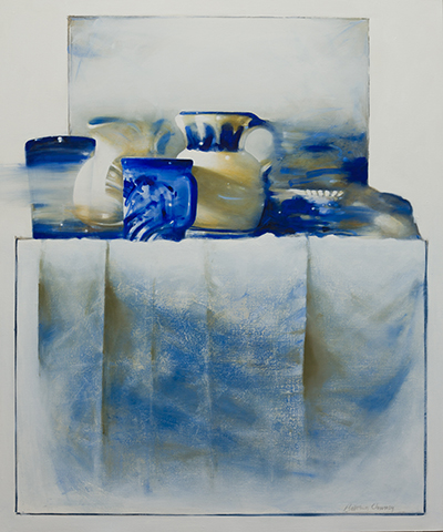 Still Life,  30 x 36 inches, oil on canvas, 2007