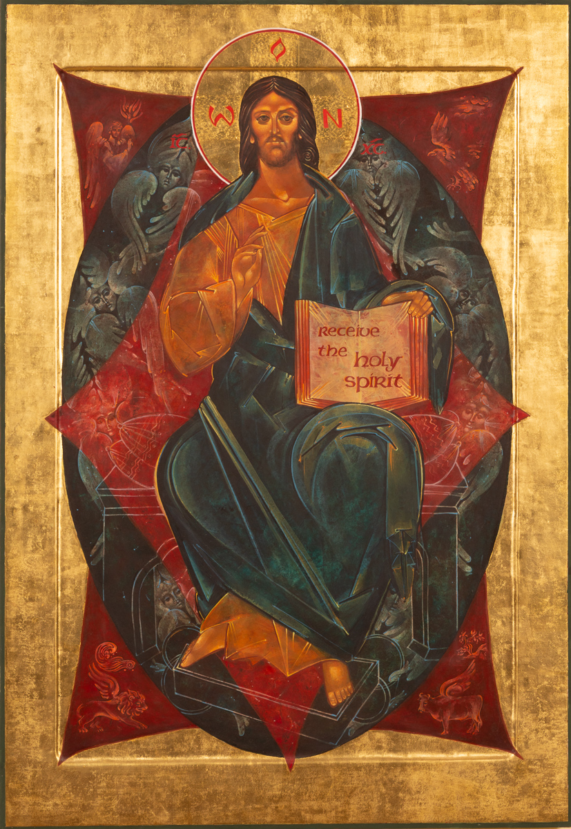 Icon of Christ in Majesty, Episcopal Church of the Holy Spirit, Harleysville, PA