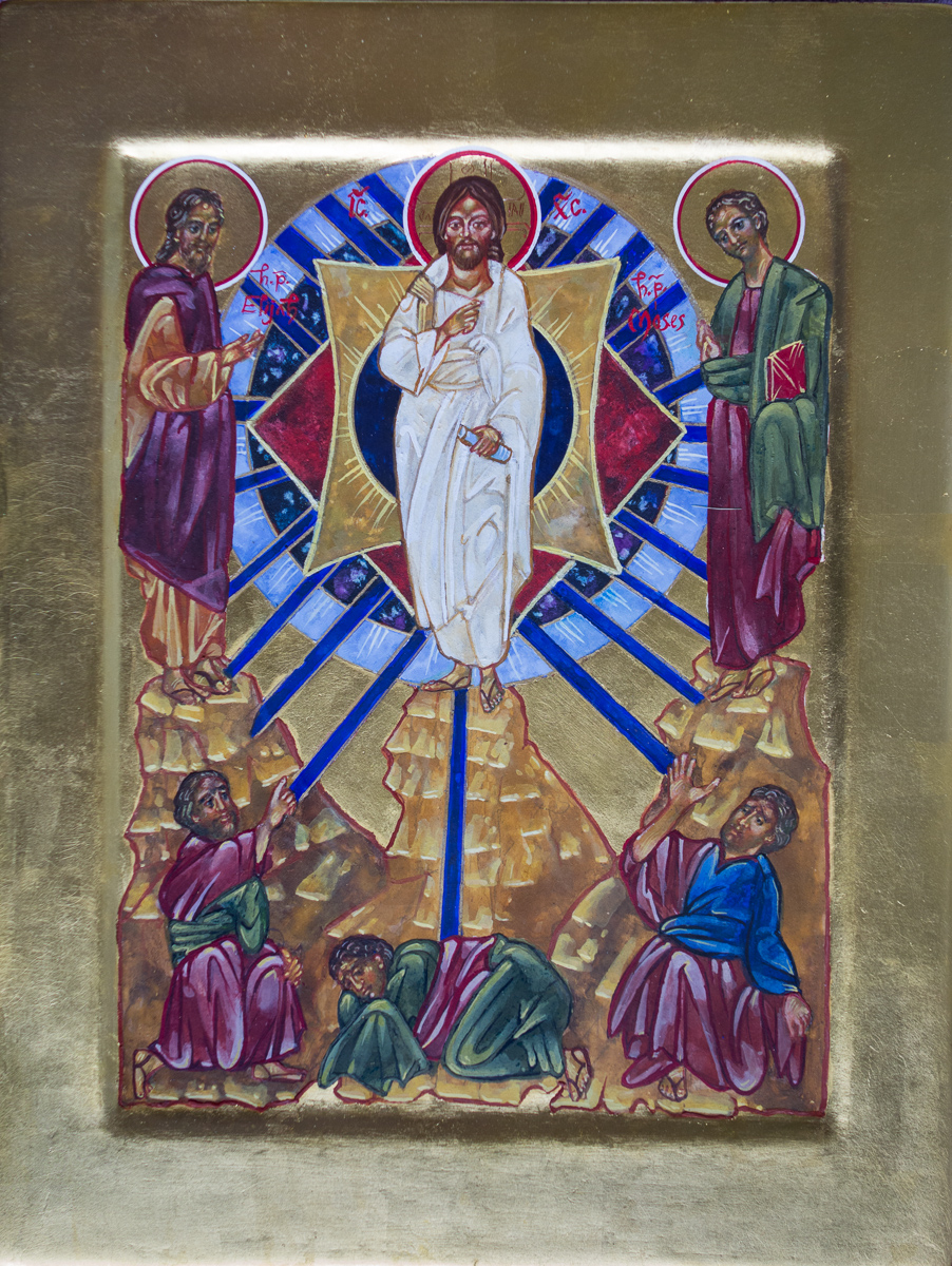 Icon of the Transfiguration. Private collection