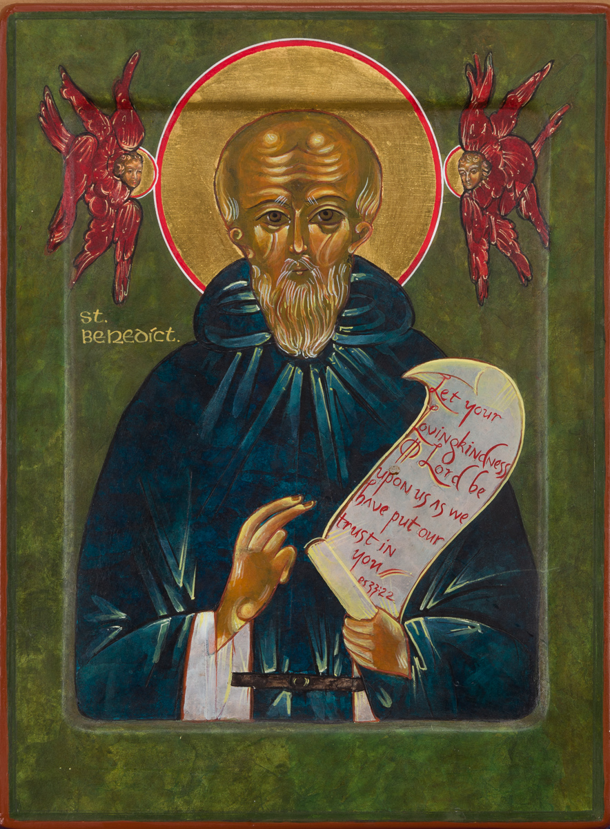 Ion of Saint Benedict. Private collection