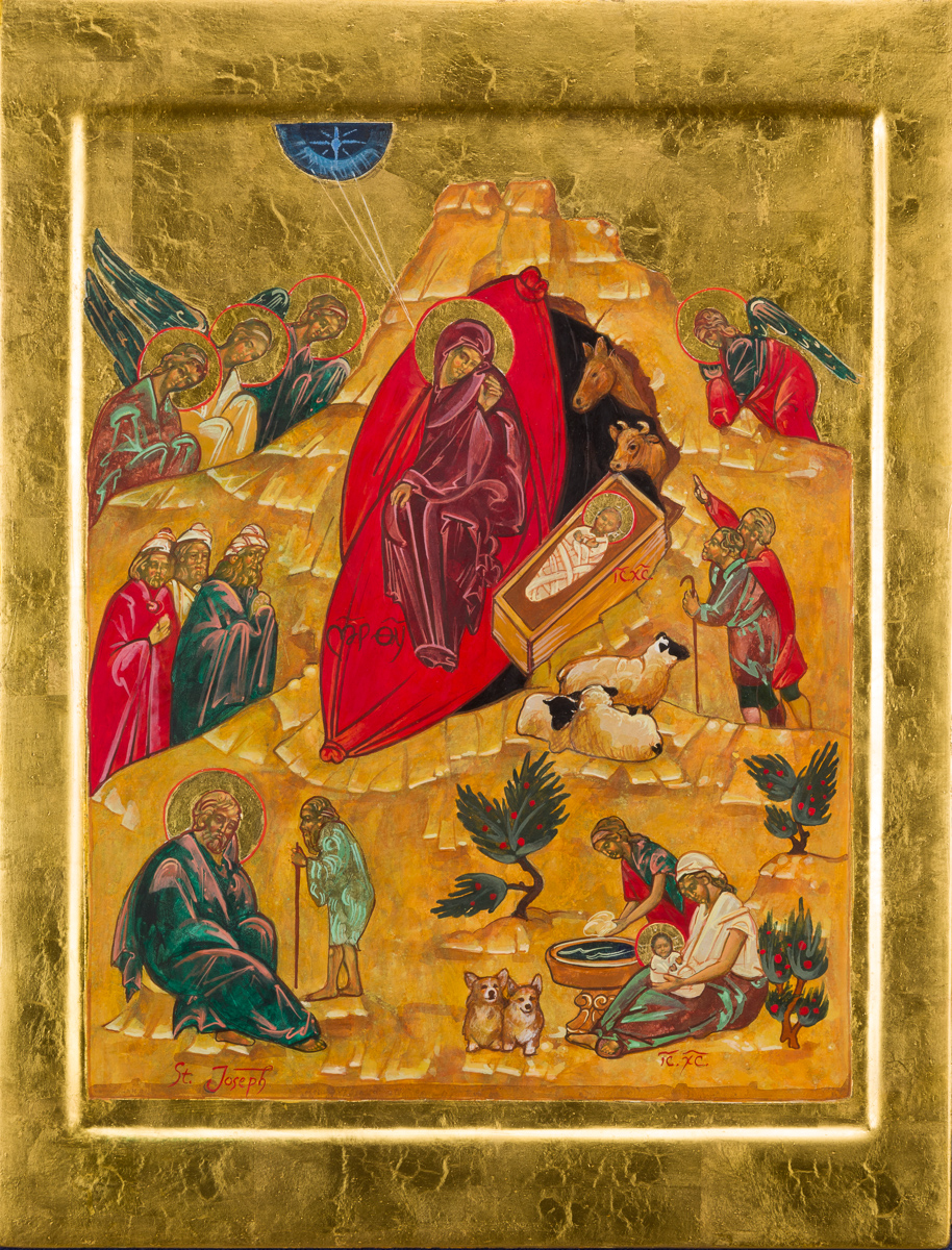 Icon of the Nativity. Private collection