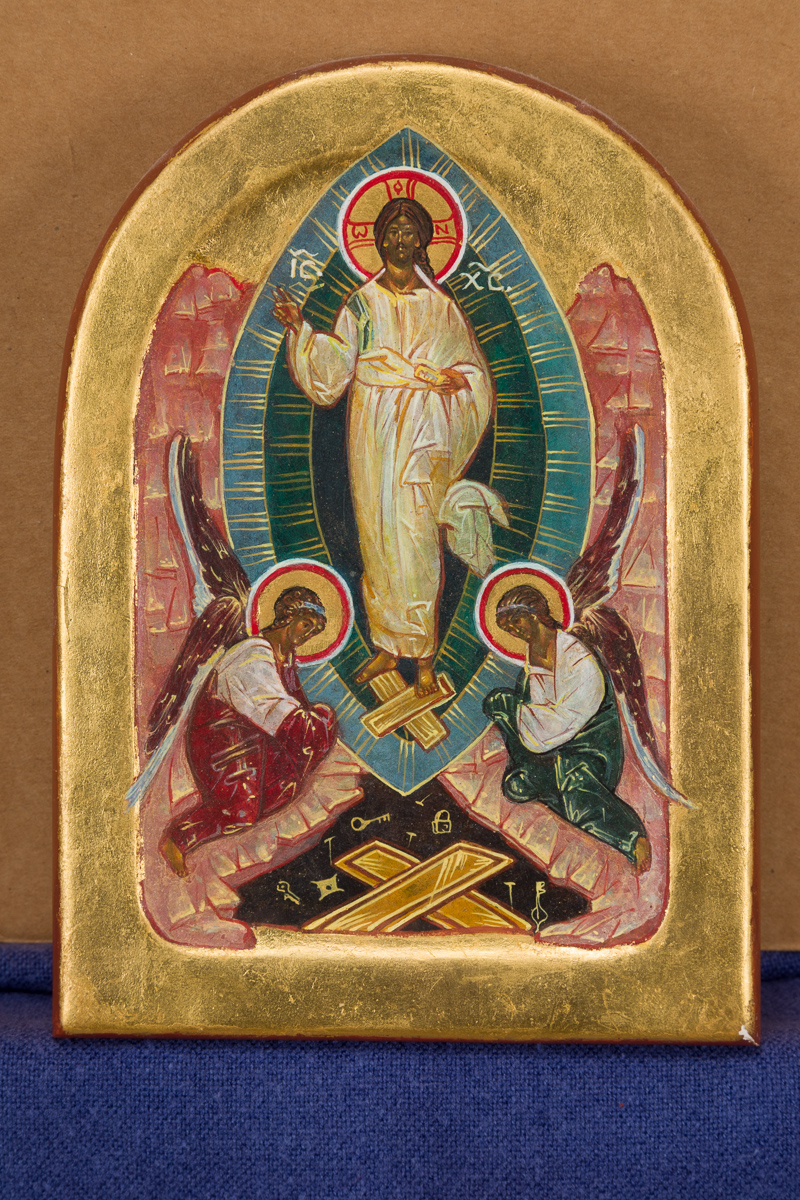Icon of the Resurrection. Private collection