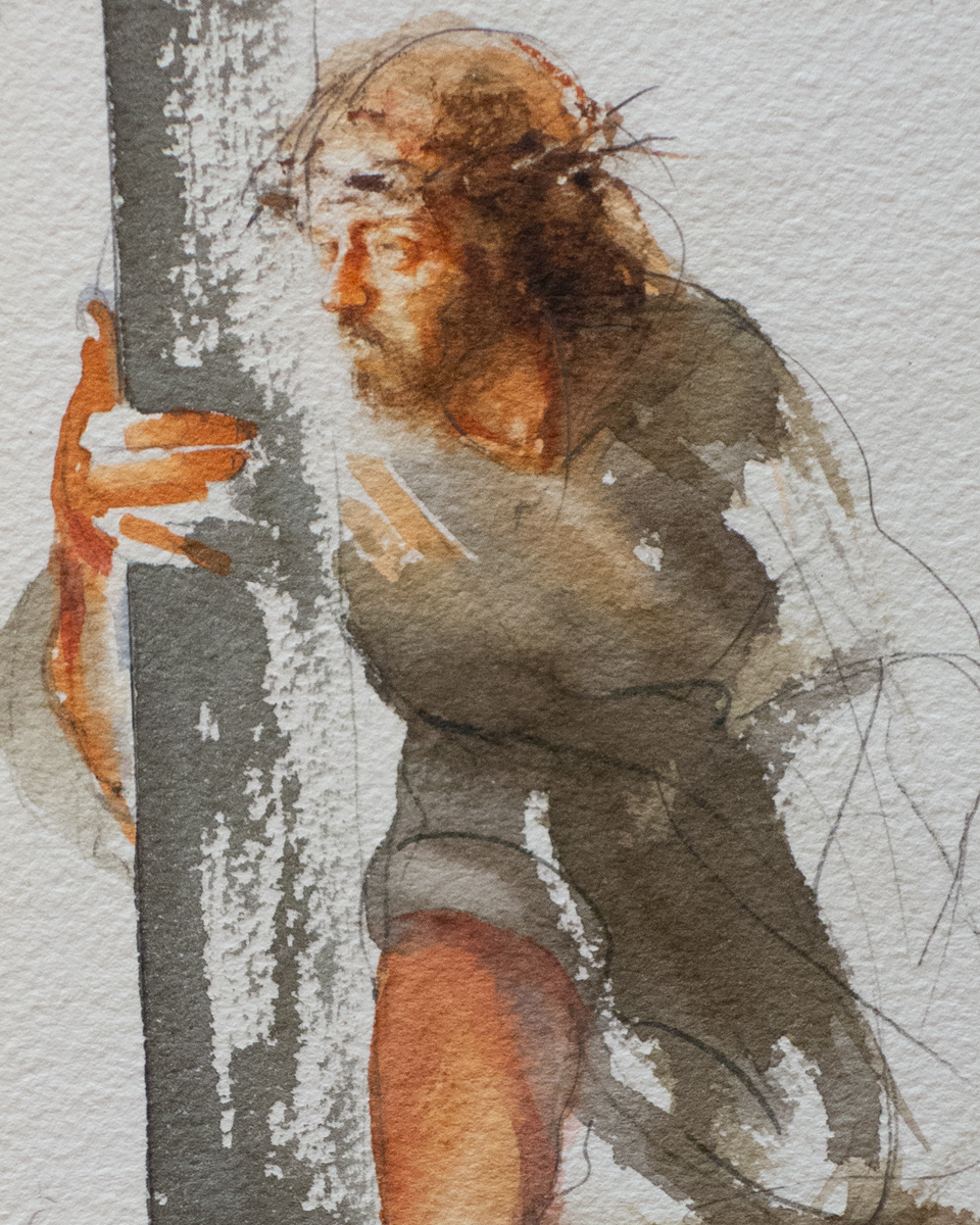 Stations of the Cross: Station 7