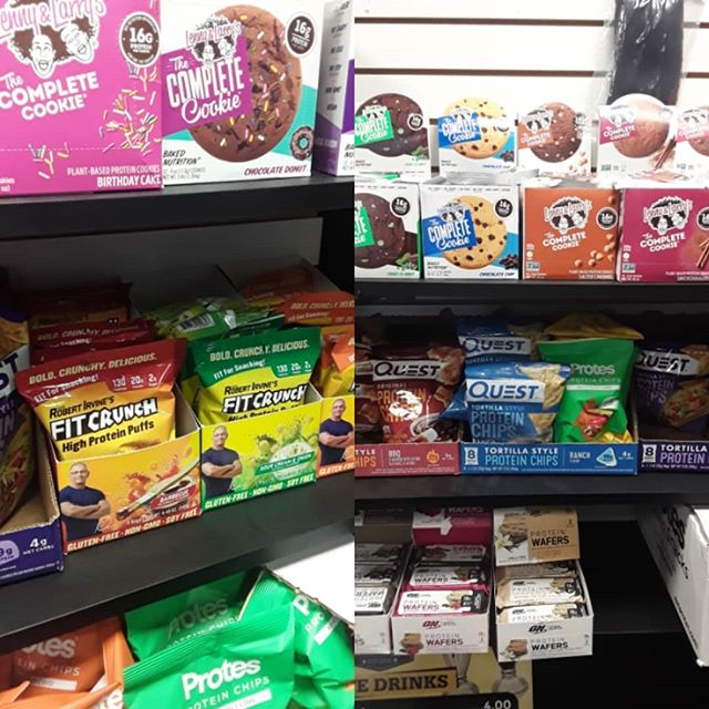 @questnutrition Nacho Chips and BBQ chips packed with 19-21 grams of protein  @fitcrunchbars high protein puffs loaded with 20 g protein -BBQ -Sour Cream -Cheddar  Cookies by @lennyandlarrys  Many flavors available @elitegymnj  Elite Gym NJ  517 Communipaw Ave  Jersey City NJ 07304  #supplement #store #bergenlafayette #jerseycitynj