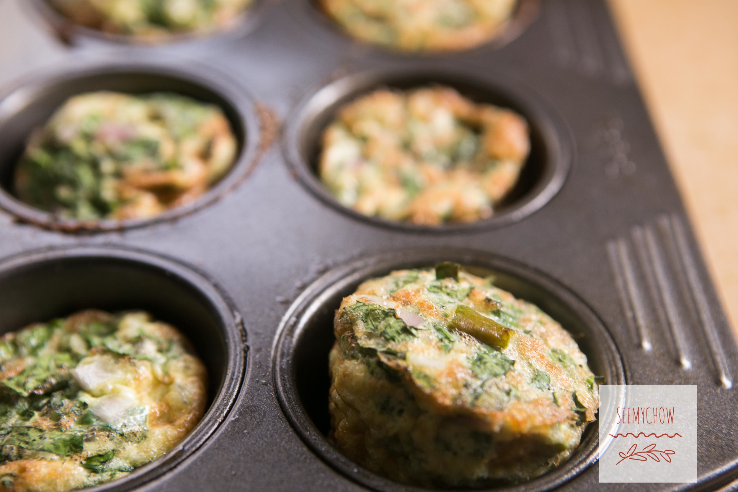 Kale & Eggs Muffins